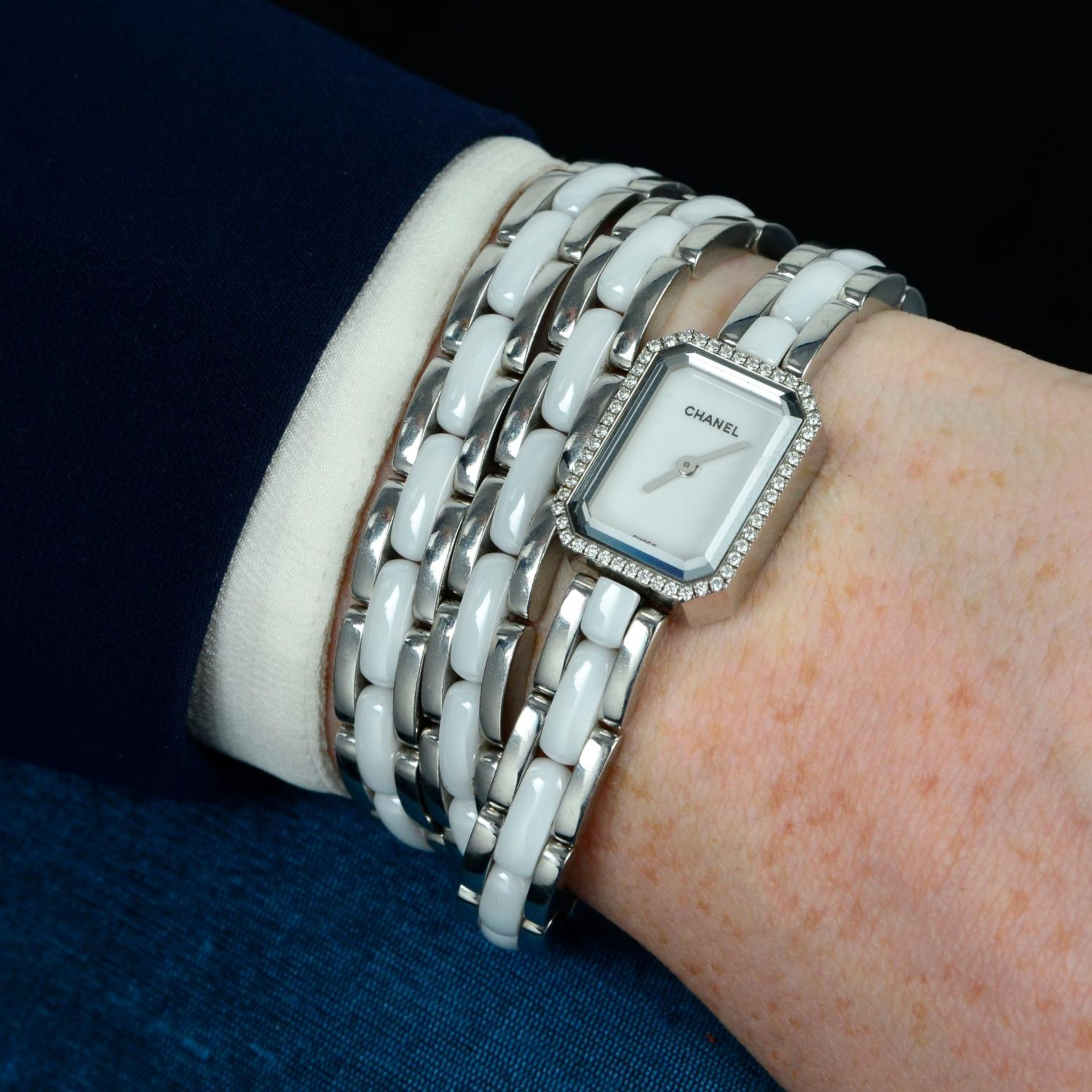 CHANEL - a Premiere bracelet watch. - Bild 3 aus 5