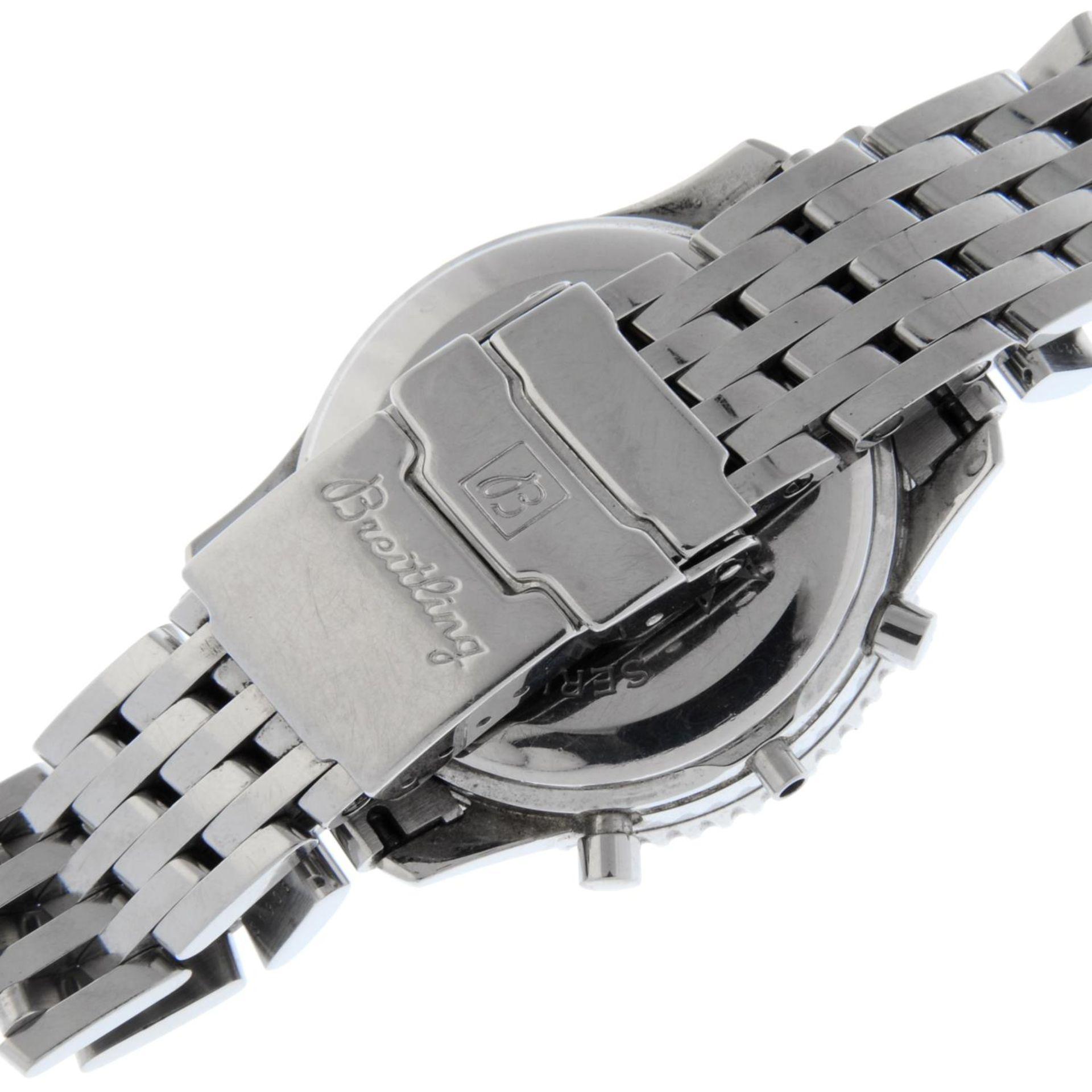 BREITLING - a Navitimer Montbrilliant bracelet watch. - Bild 2 aus 5