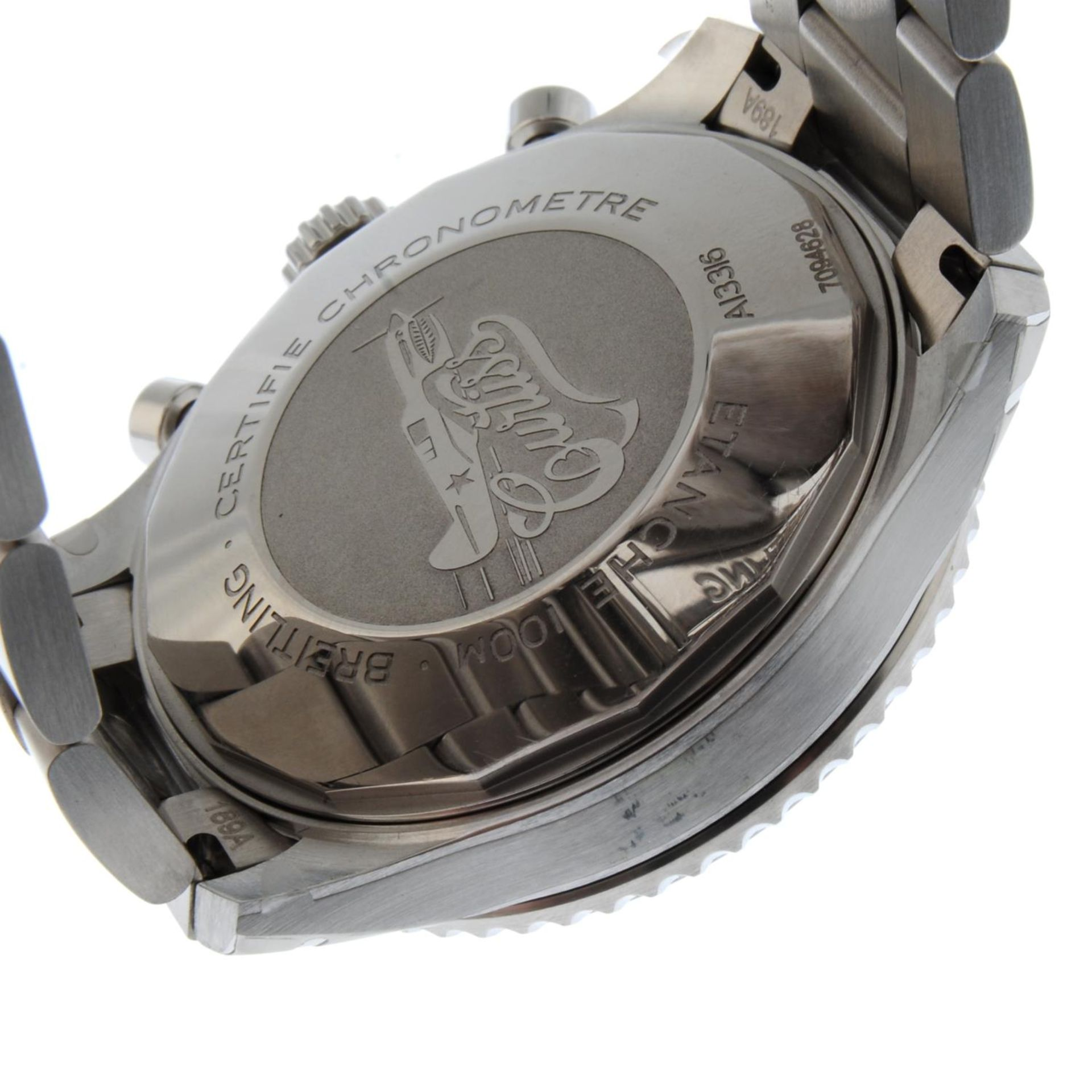 CURRENT MODEL: BREITLING - an Aviator 8 chronograph bracelet watch. - Bild 2 aus 6