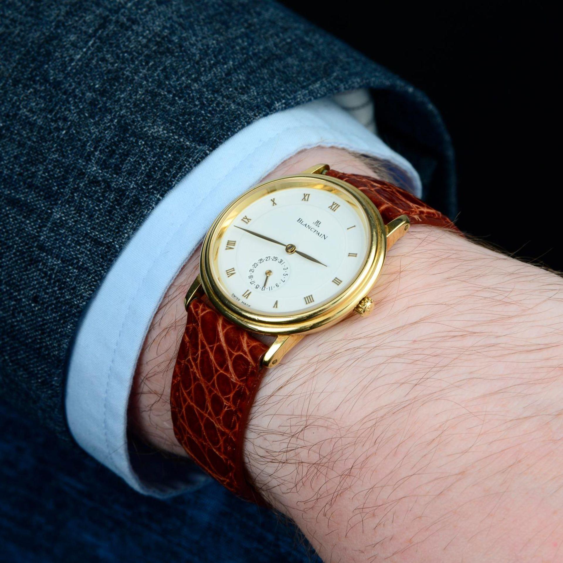 BLANCPAIN - a Villeret wrist watch. - Bild 3 aus 6