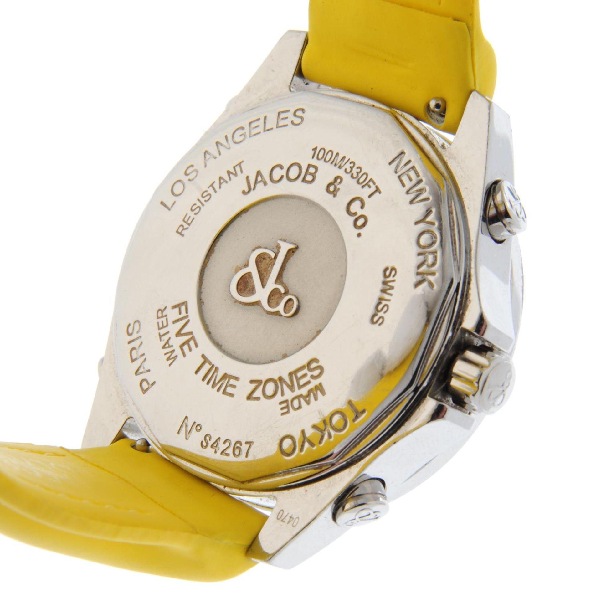 JACOB & CO. - a Five Time Zone wrist watch. - Bild 6 aus 8