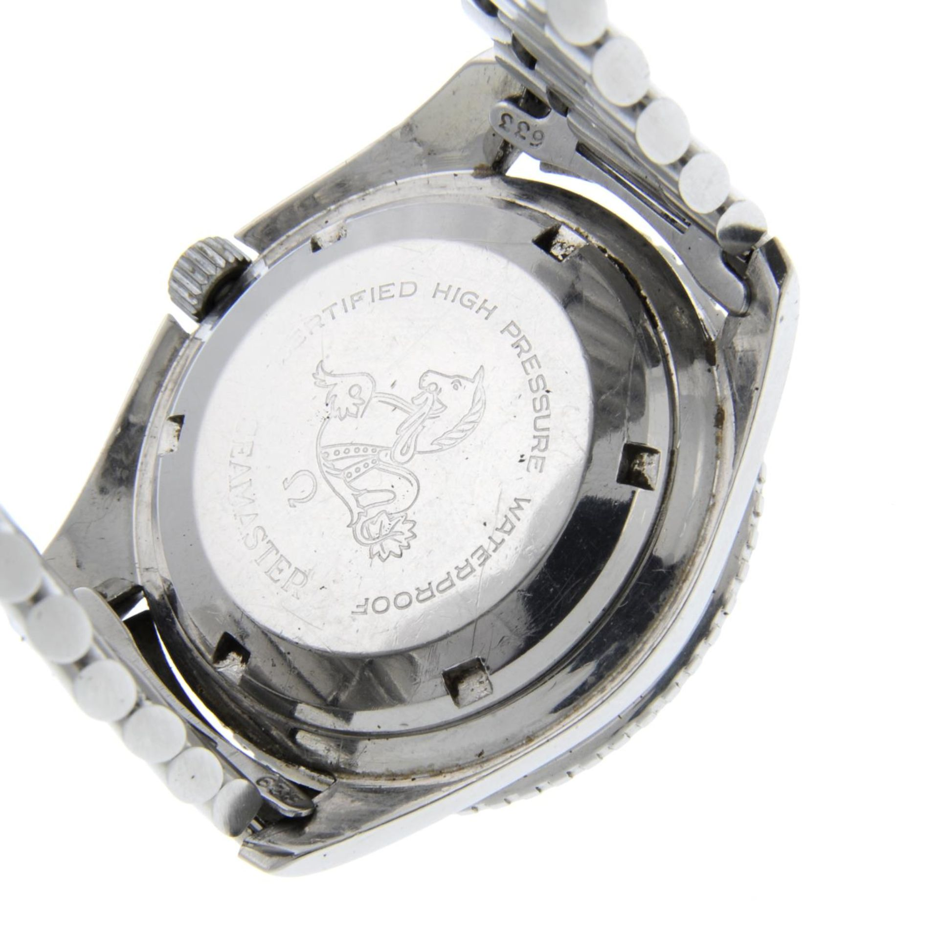 OMEGA - a Seamaster 300 'Big Triangle' bracelet watch. - Bild 4 aus 4