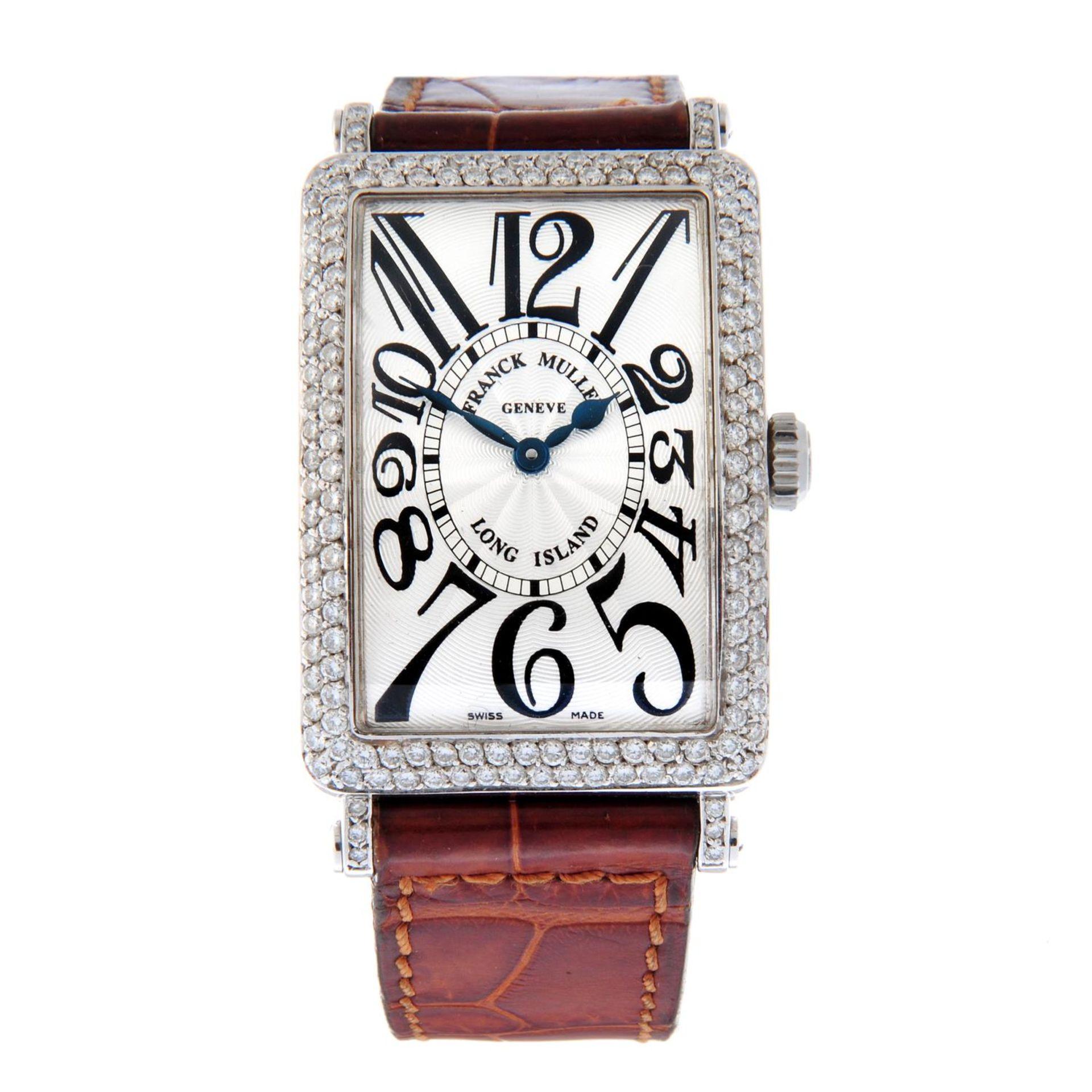 FRANCK MULLER - a long Island wrist watch.