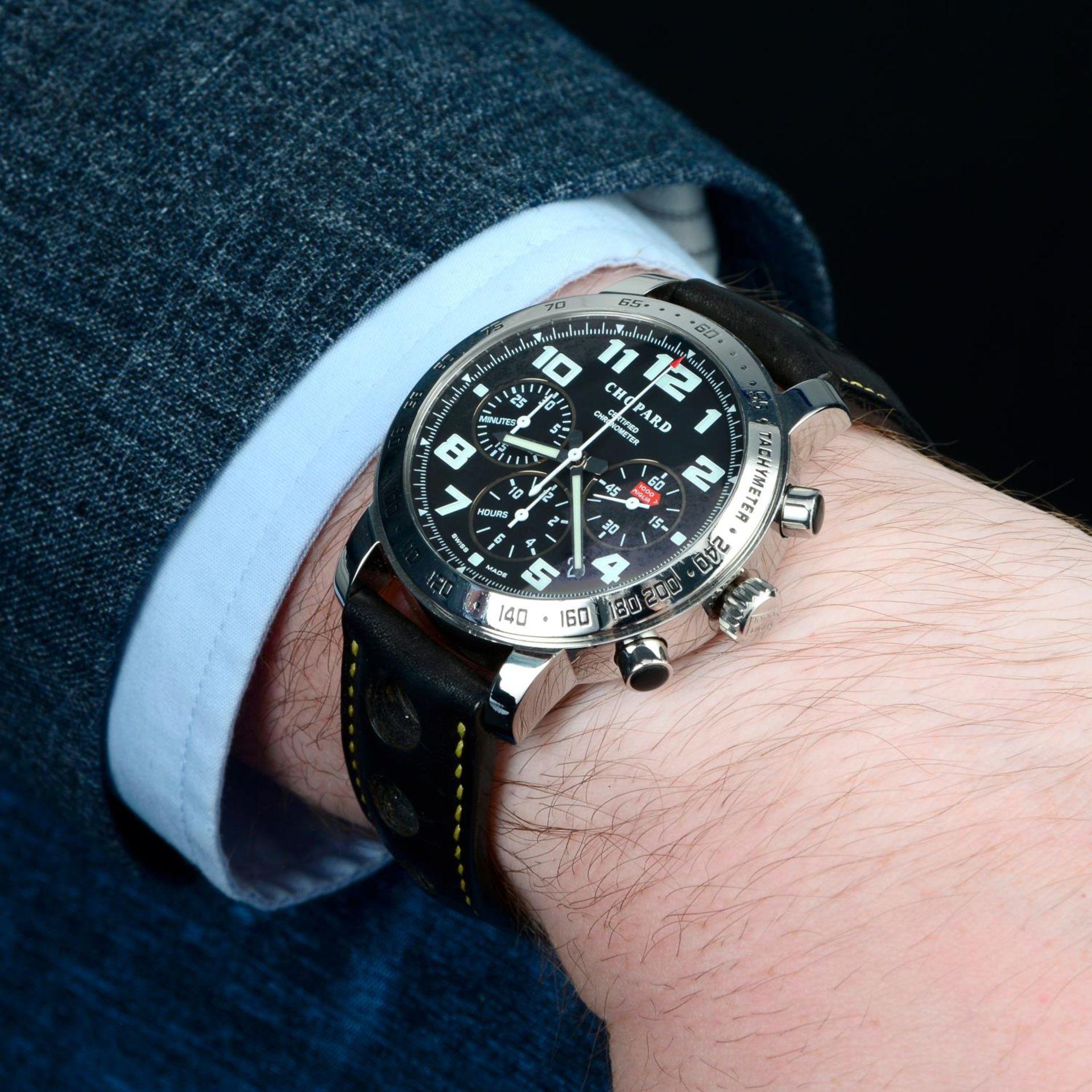 CHOPARD - a Mille Miglia chronograph wrist watch. - Bild 3 aus 6