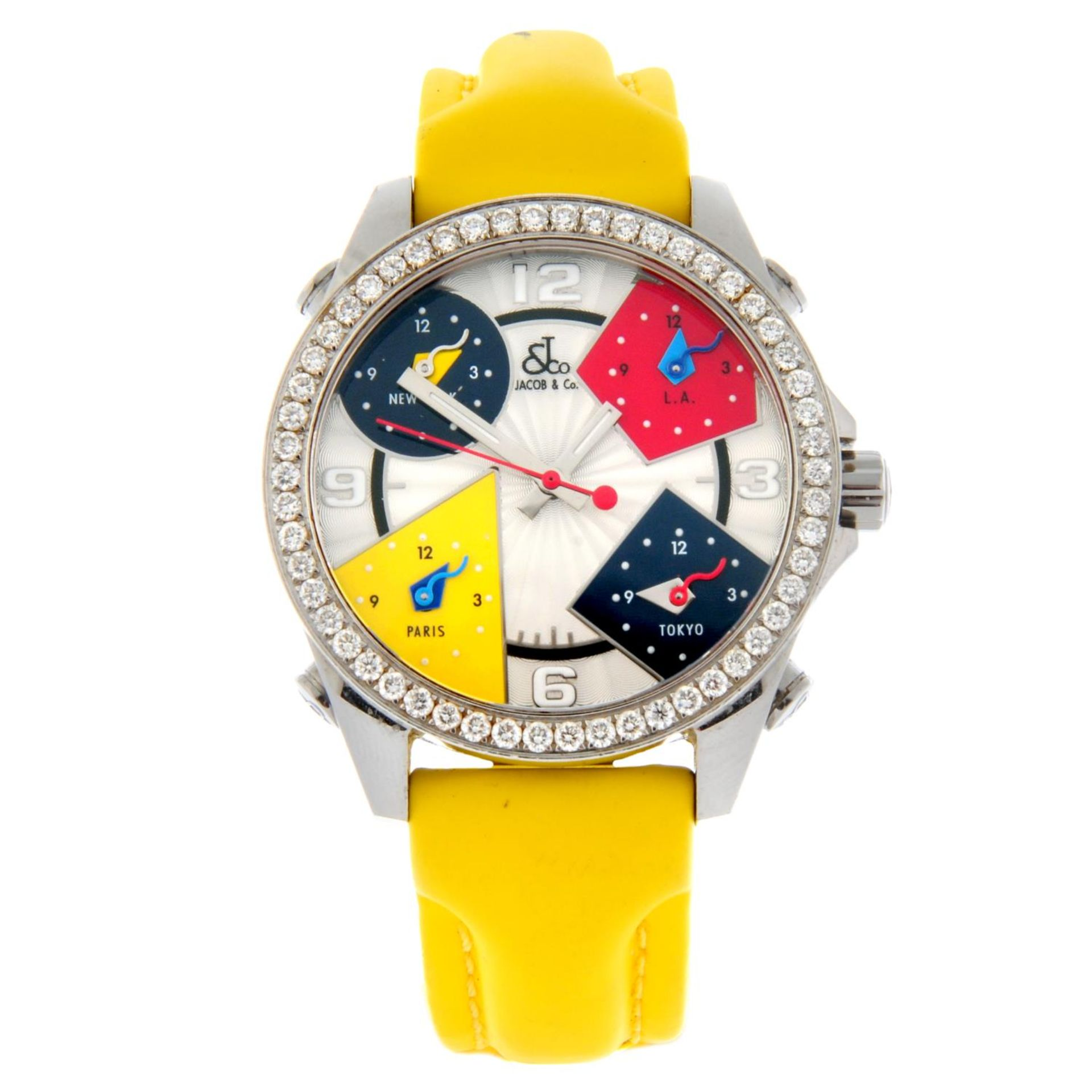 JACOB & CO. - a Five Time Zone wrist watch.