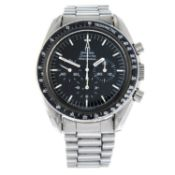 OMEGA - a Speedmaster Professional chronograph bracelet watch.