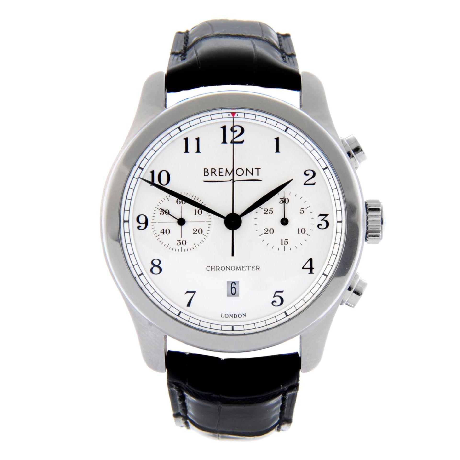 BREMONT - an ALT1-C wrist watch.
