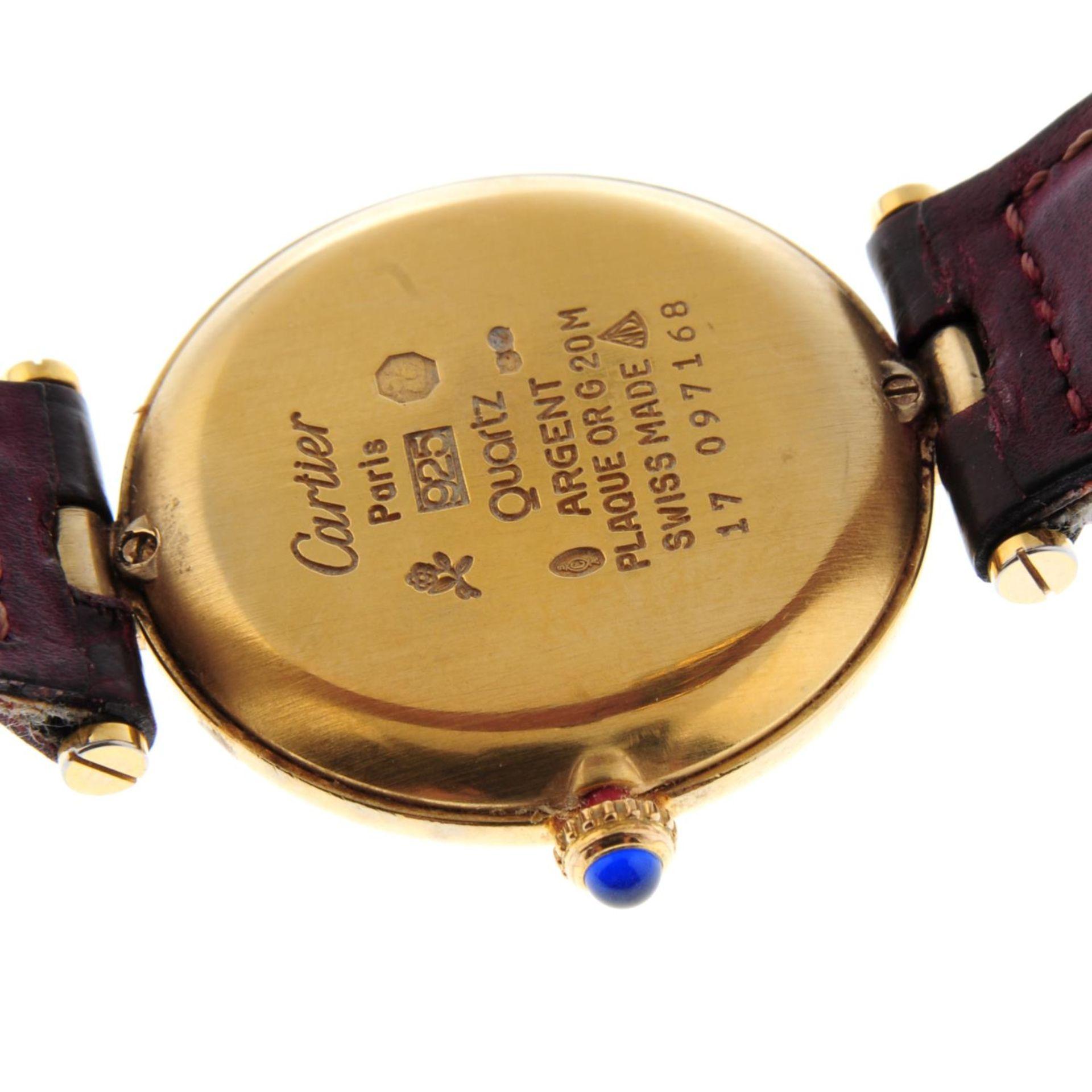 CARTIER - a Must de Cartier wrist watch. - Bild 2 aus 5