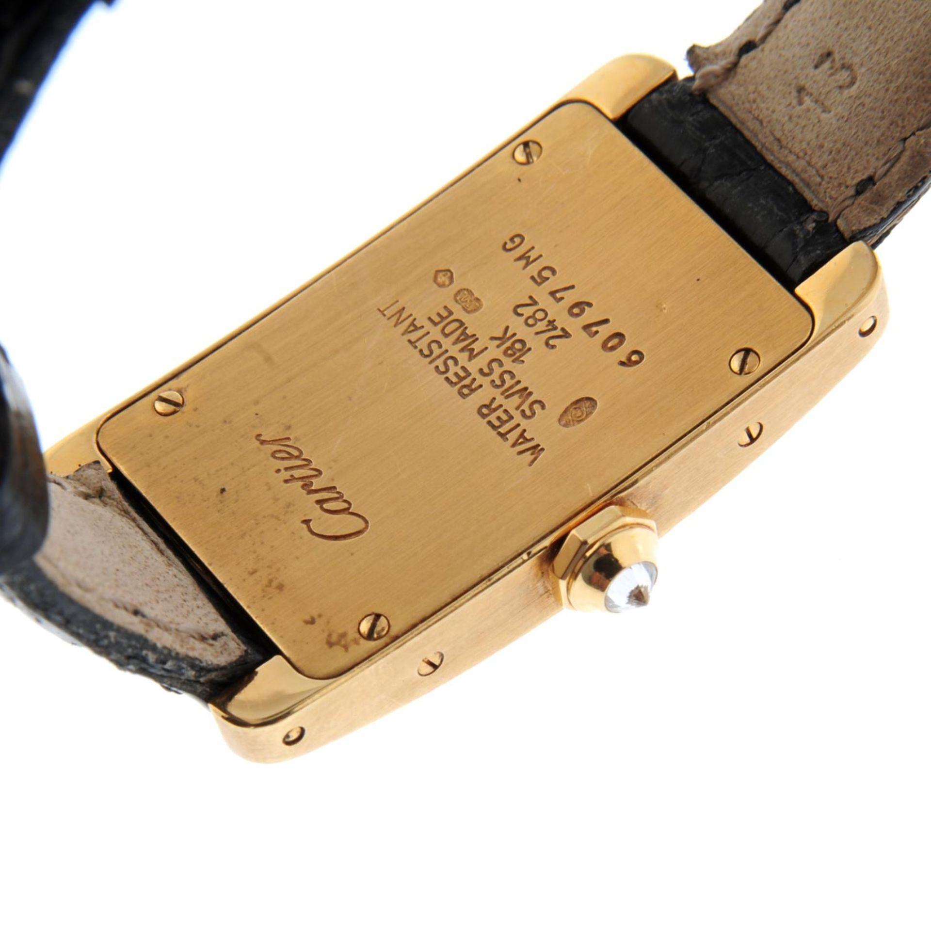 CARTIER - a Tank Americaine wrist watch. - Bild 2 aus 4