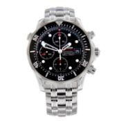 OMEGA - a Seamaster Professional 300M chronograph bracelet watch.