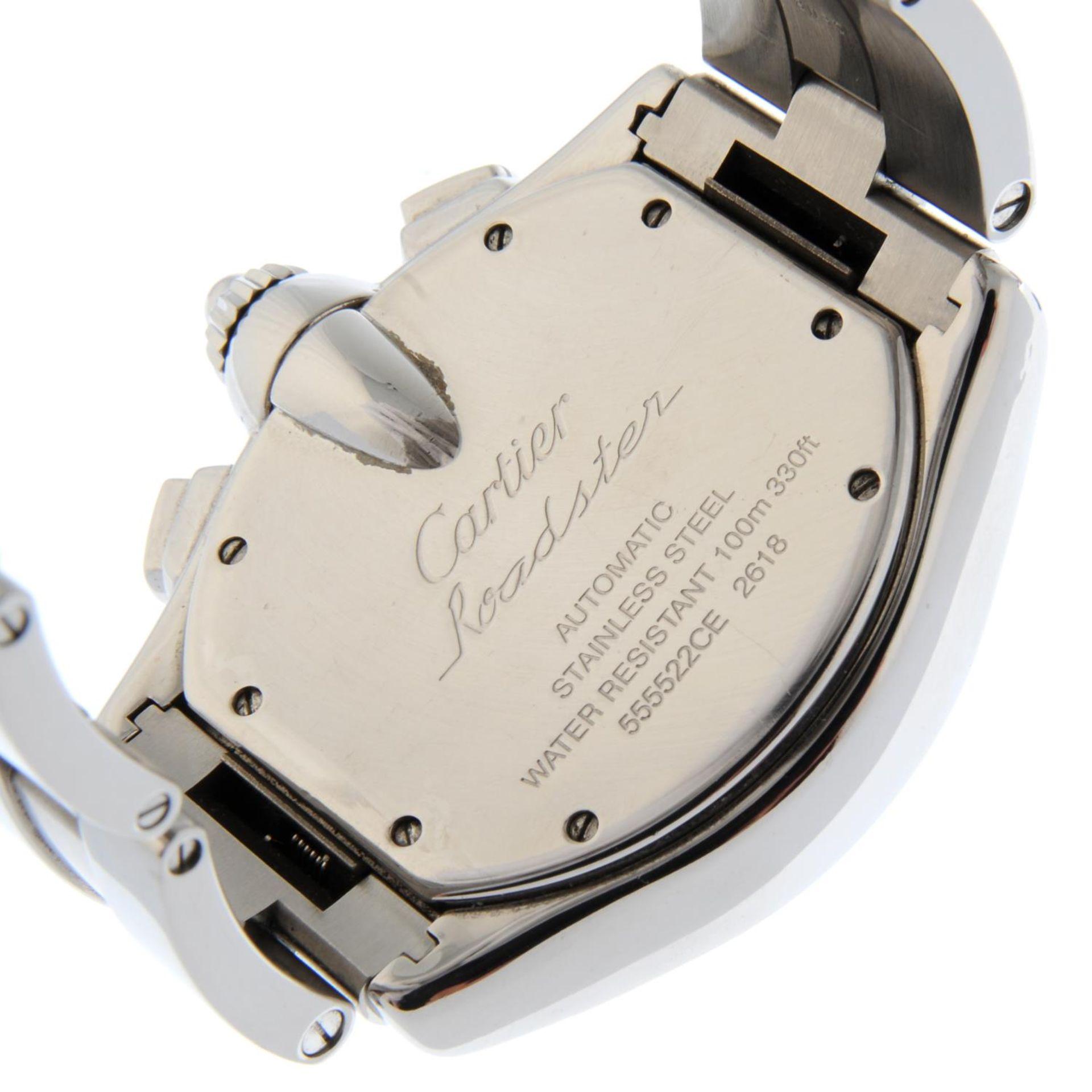 CARTIER - a Roadster XL chronograph bracelet watch. - Bild 5 aus 6