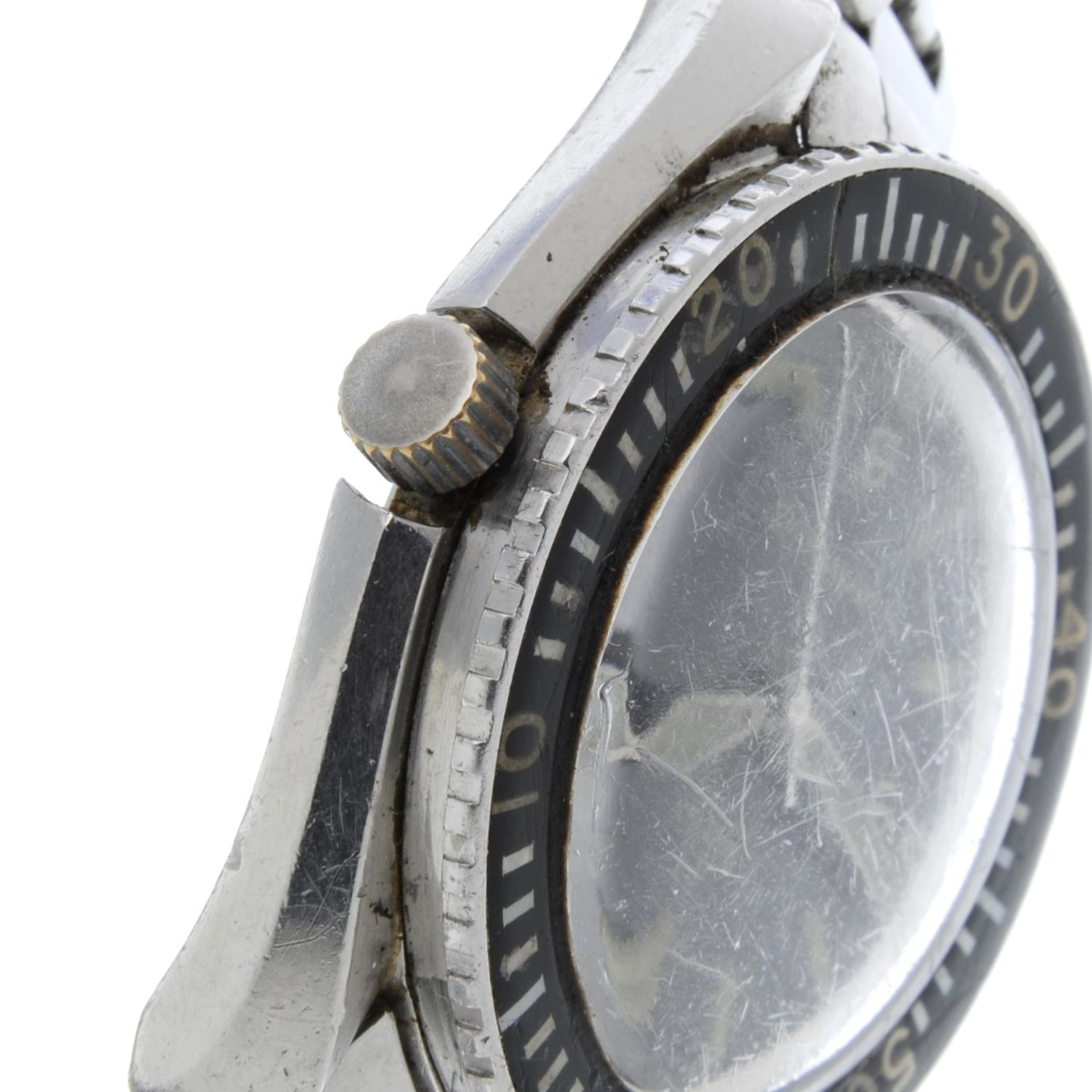 OMEGA - a Seamaster 300 'Big Triangle' bracelet watch. - Bild 3 aus 4
