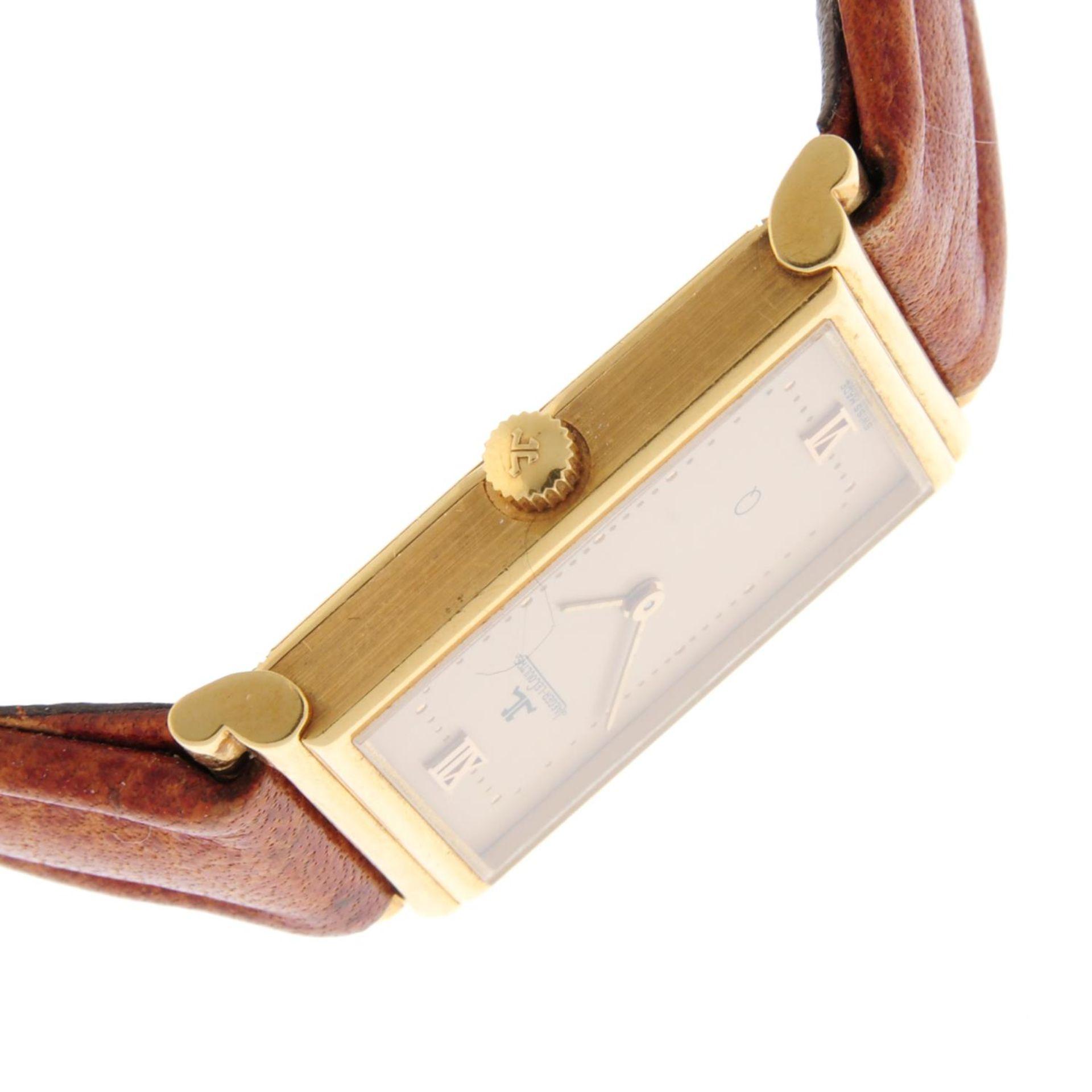 JAEGER-LECOULTRE - a wrist watch. - Bild 4 aus 5