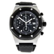 AUDEMARS PIGUET - a Royal Oak Offshore chronograph wrist watch.