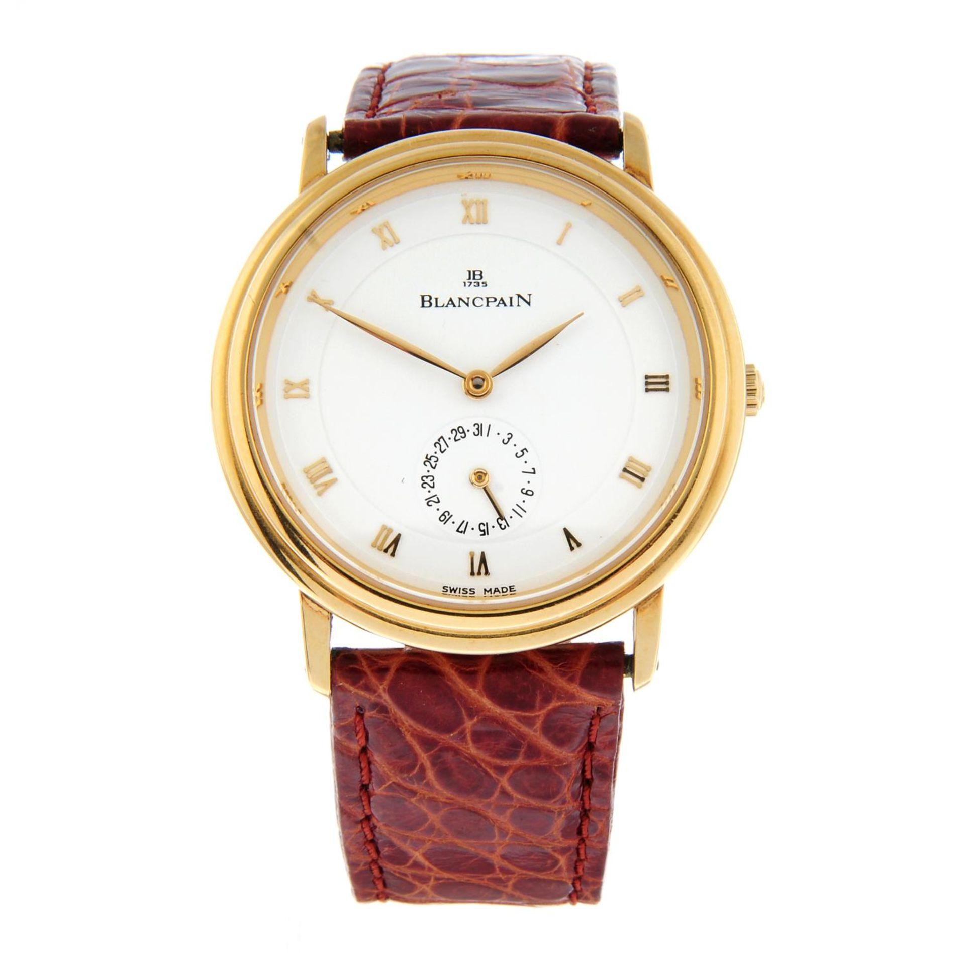 BLANCPAIN - a Villeret wrist watch.