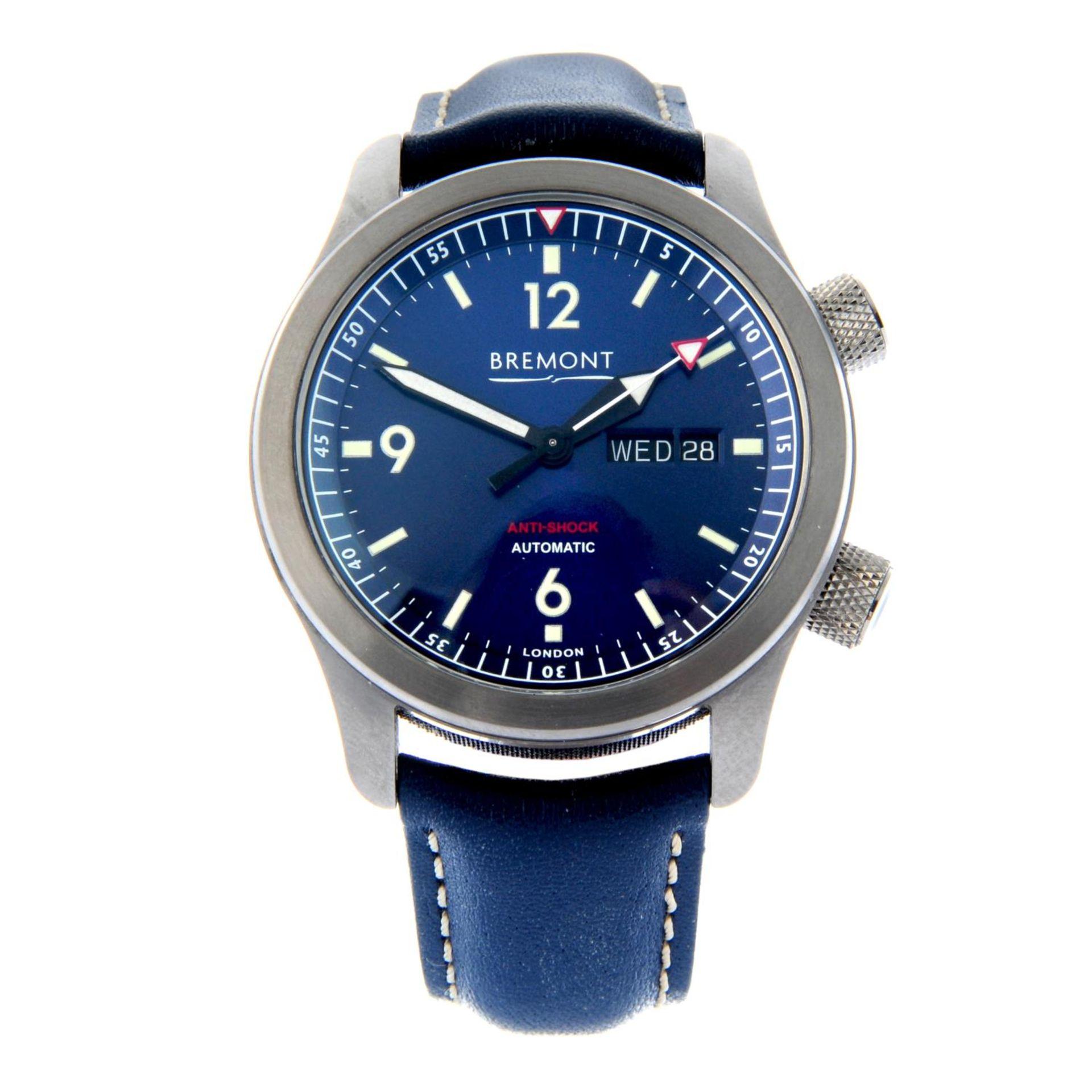BREMONT - a U2 wrist watch.