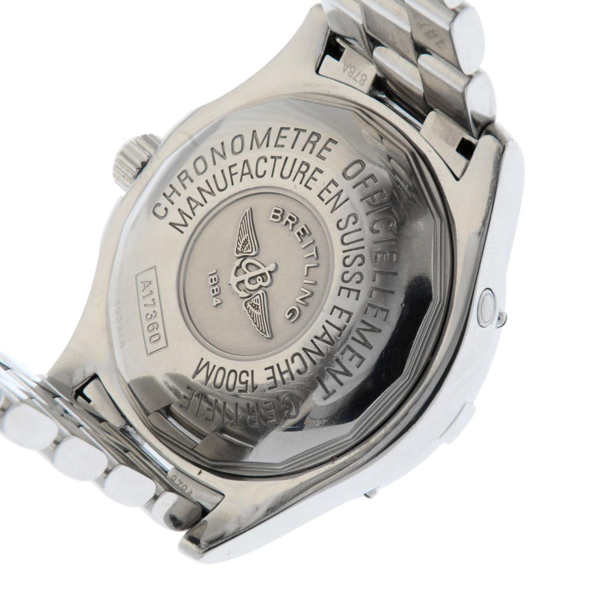 BREITLING - a SuperOcean bracelet watch. - Bild 5 aus 5