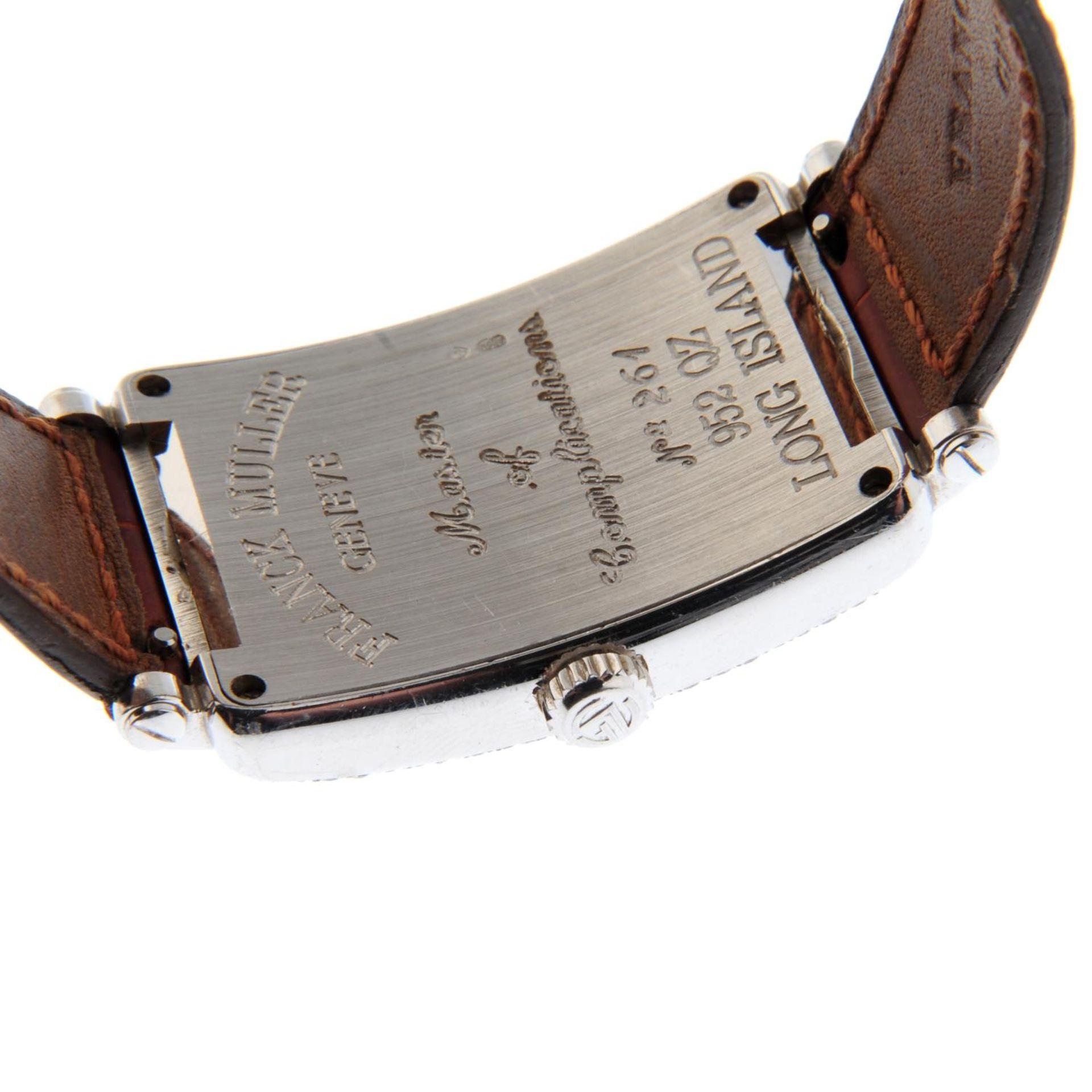 FRANCK MULLER - a long Island wrist watch. - Bild 2 aus 5