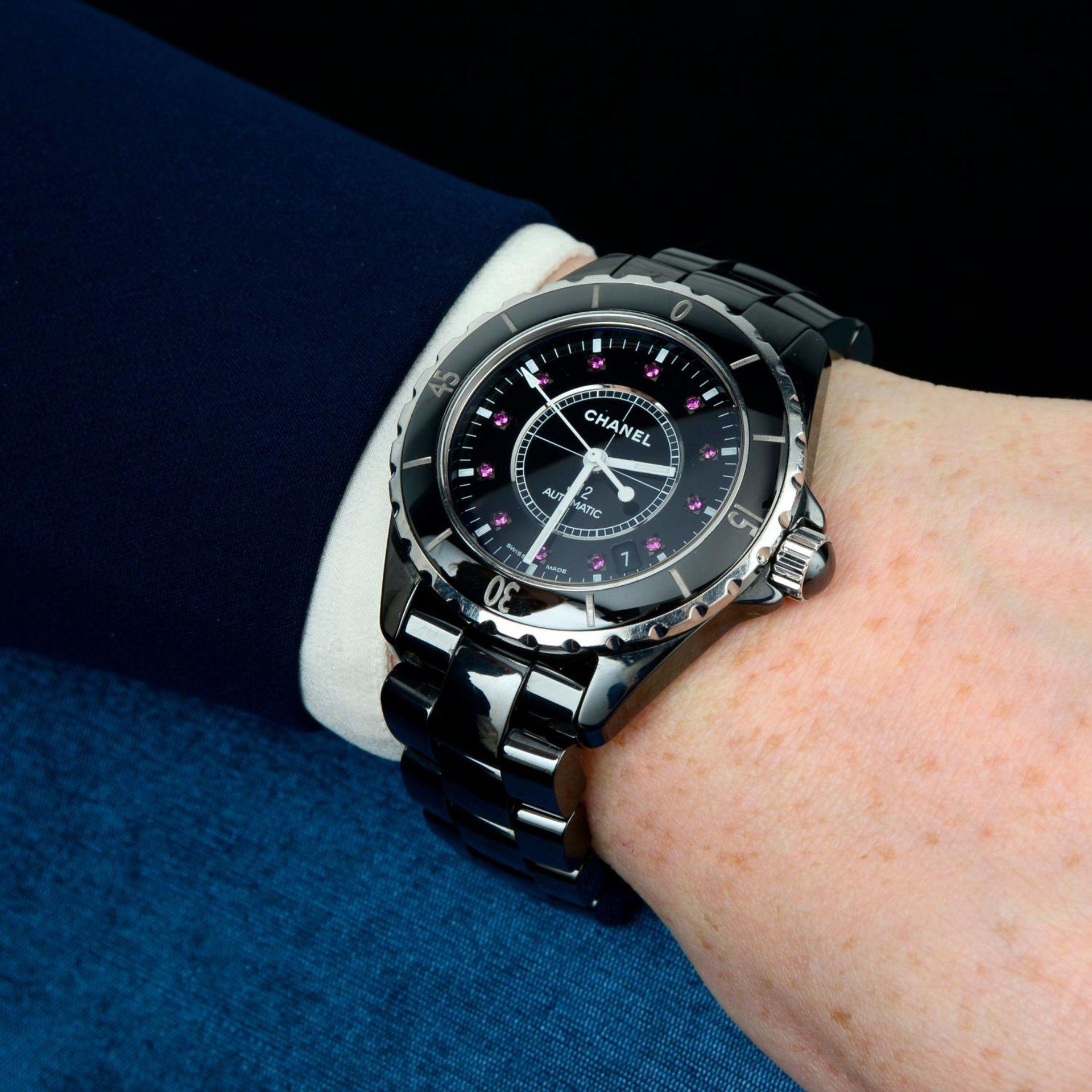 CHANEL - a J12 bracelet watch. - Bild 3 aus 5