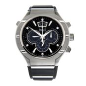 PIAGET - a Polo FortyFive Flyback chronograph wrist watch.