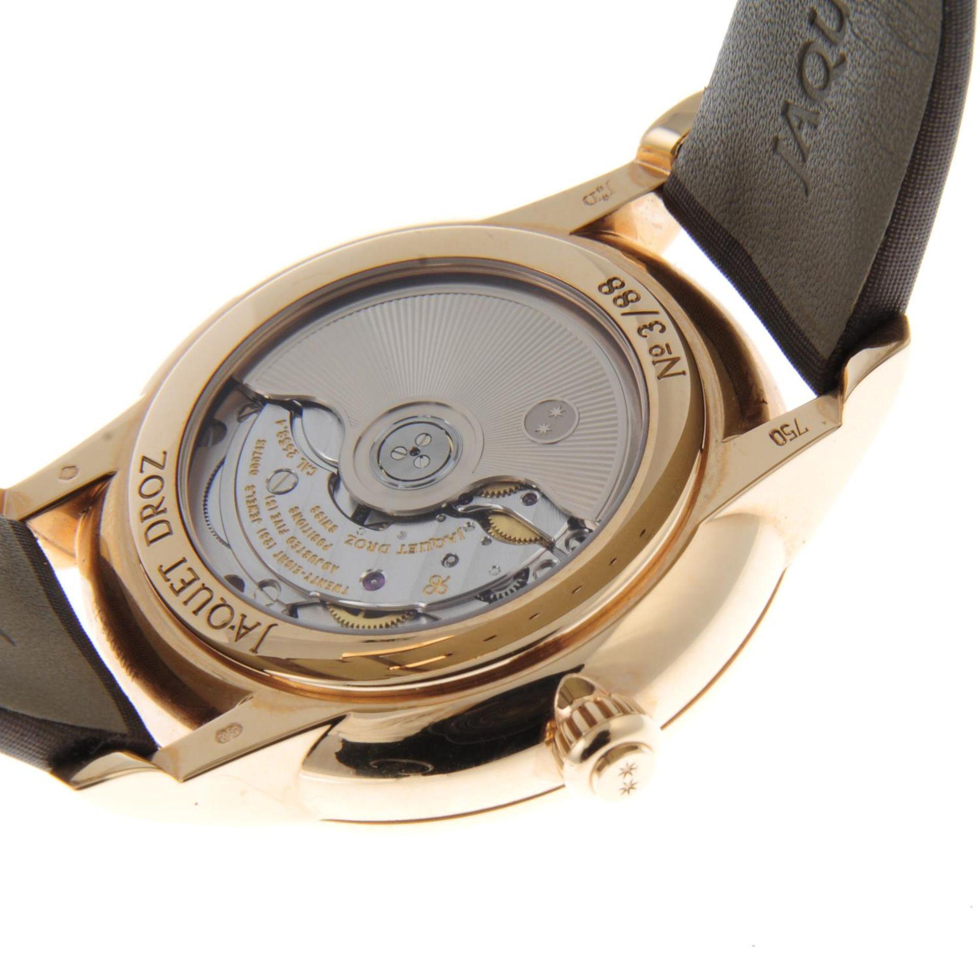 JAQUET DROZ - a limited edition Petite Heure Minute Art Deco wrist watch. - Bild 2 aus 6