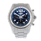 BREITLING - a Chronospace chronograph bracelet watch.