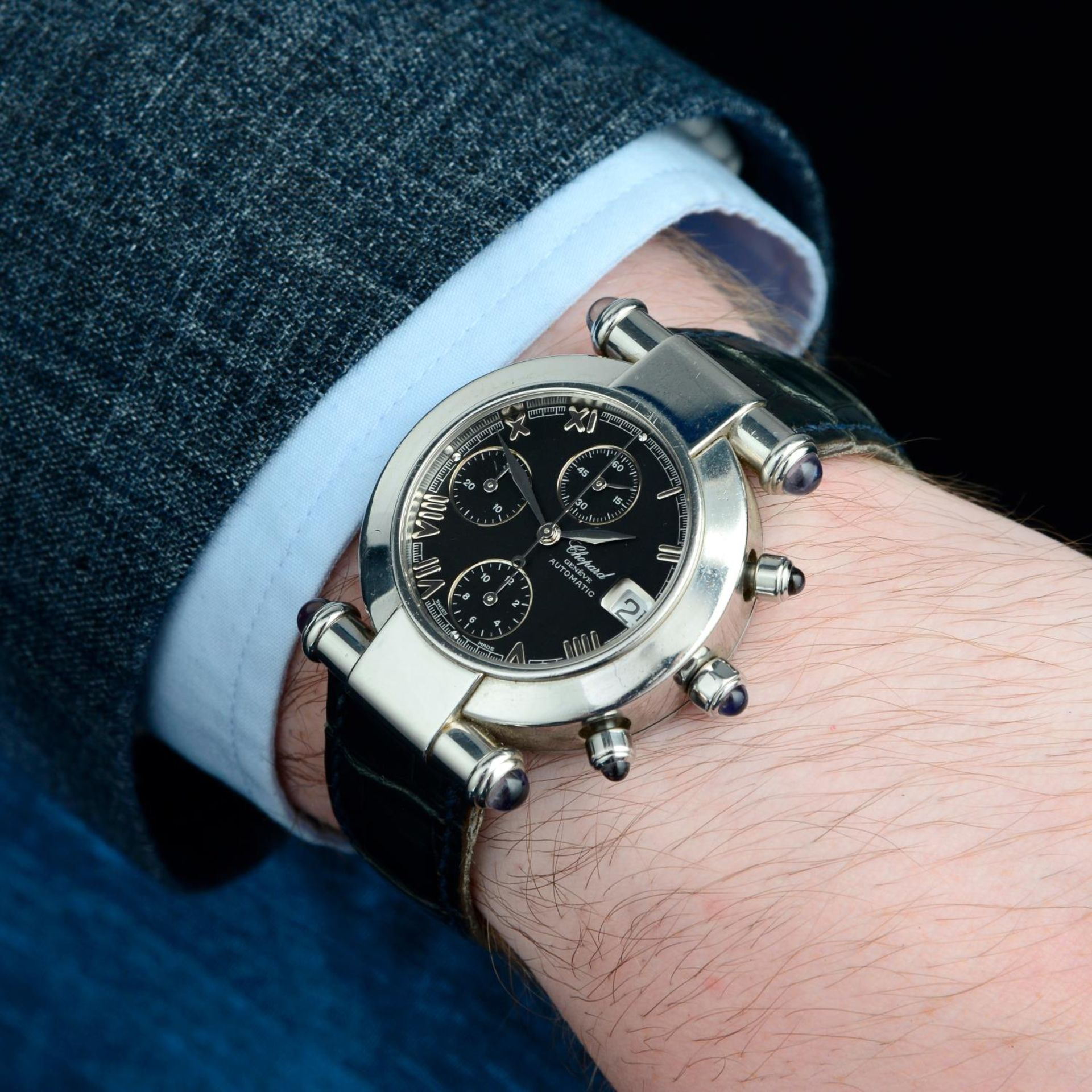 CHOPARD - an Imperiale chronograph wrist watch. - Bild 3 aus 5