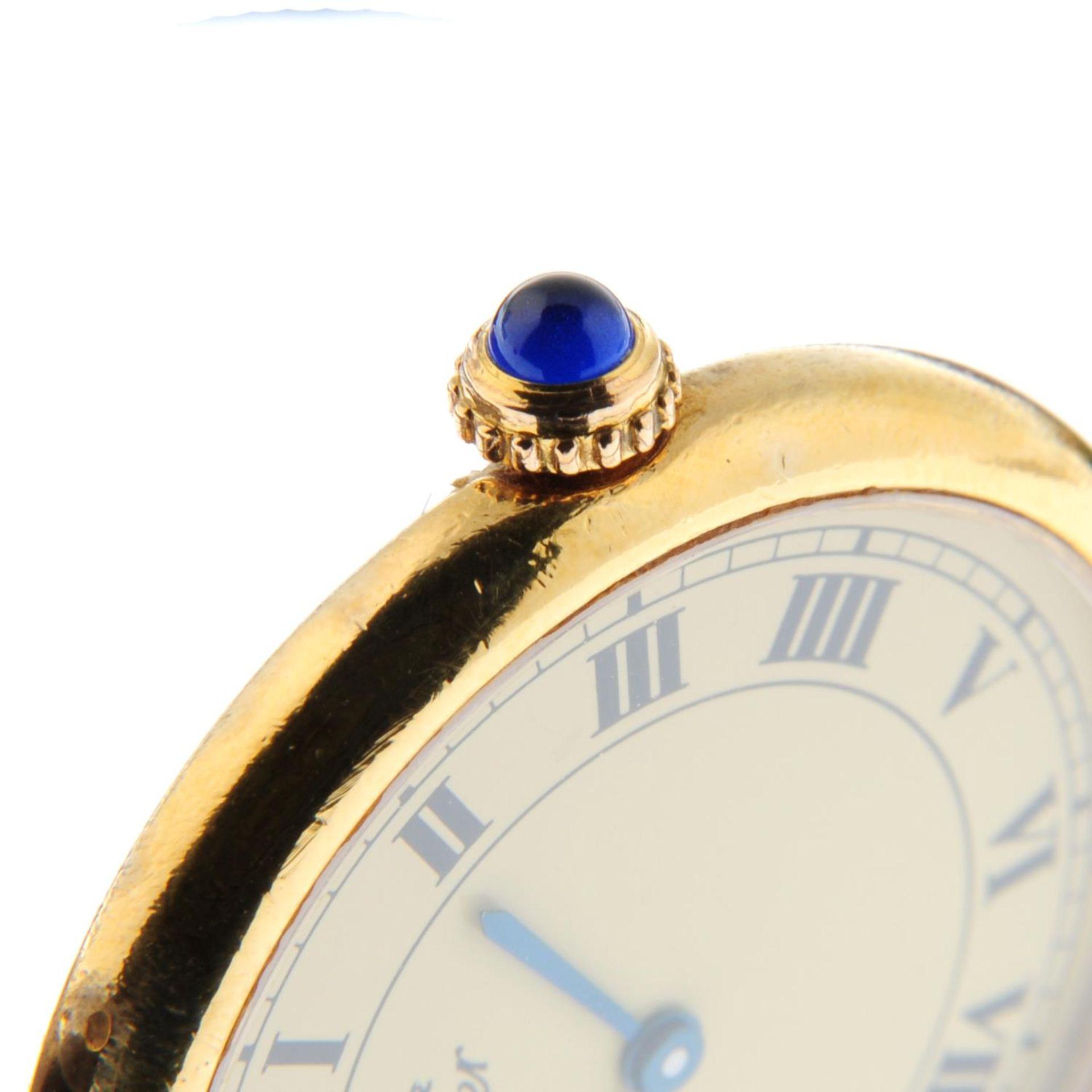 CARTIER - a Must de Cartier wrist watch. - Bild 5 aus 5