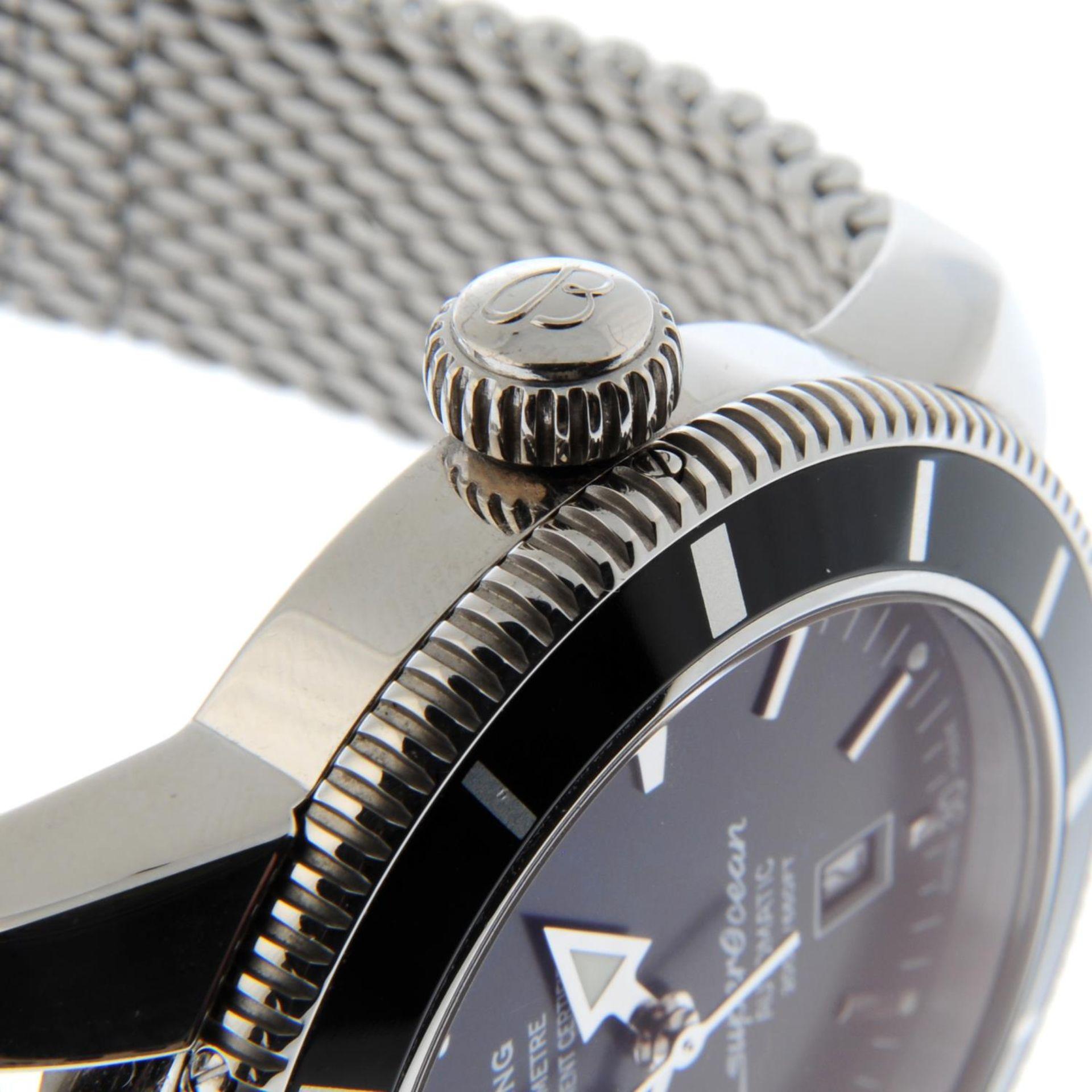 BREITLING - a SuperOcean Heritage 46 bracelet watch. - Bild 5 aus 6