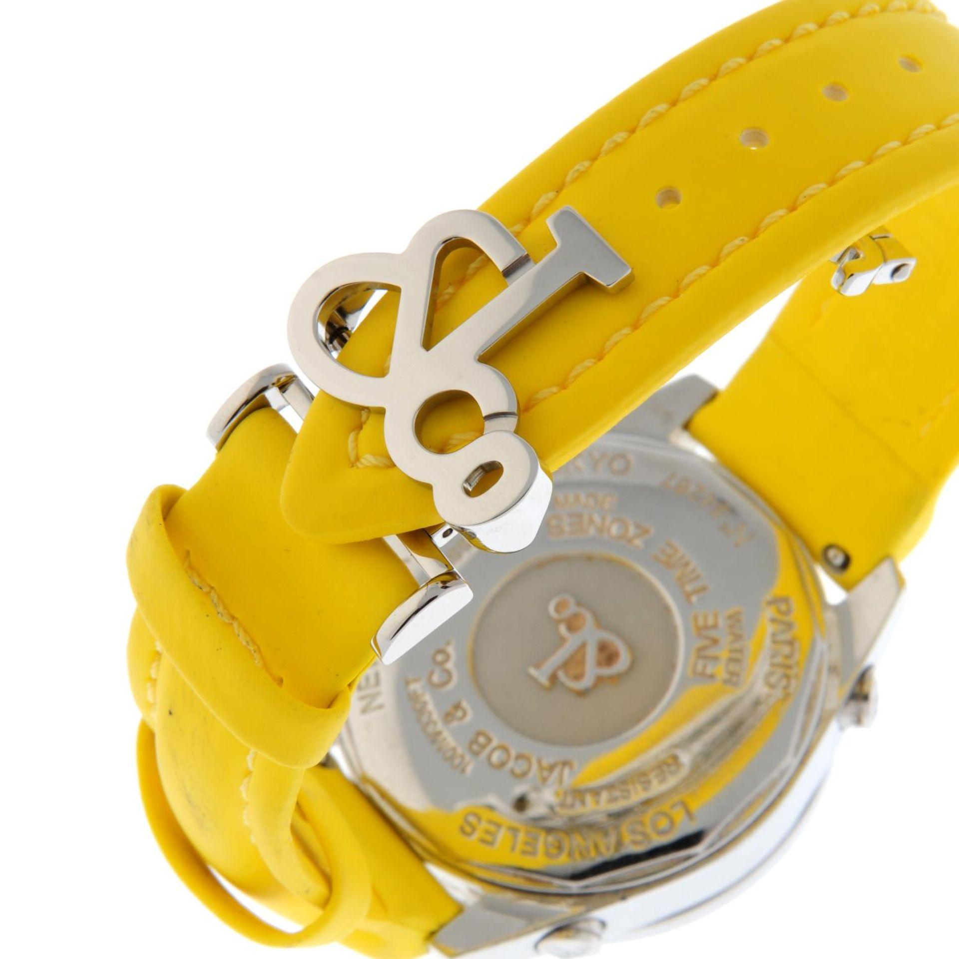 JACOB & CO. - a Five Time Zone wrist watch. - Bild 2 aus 8