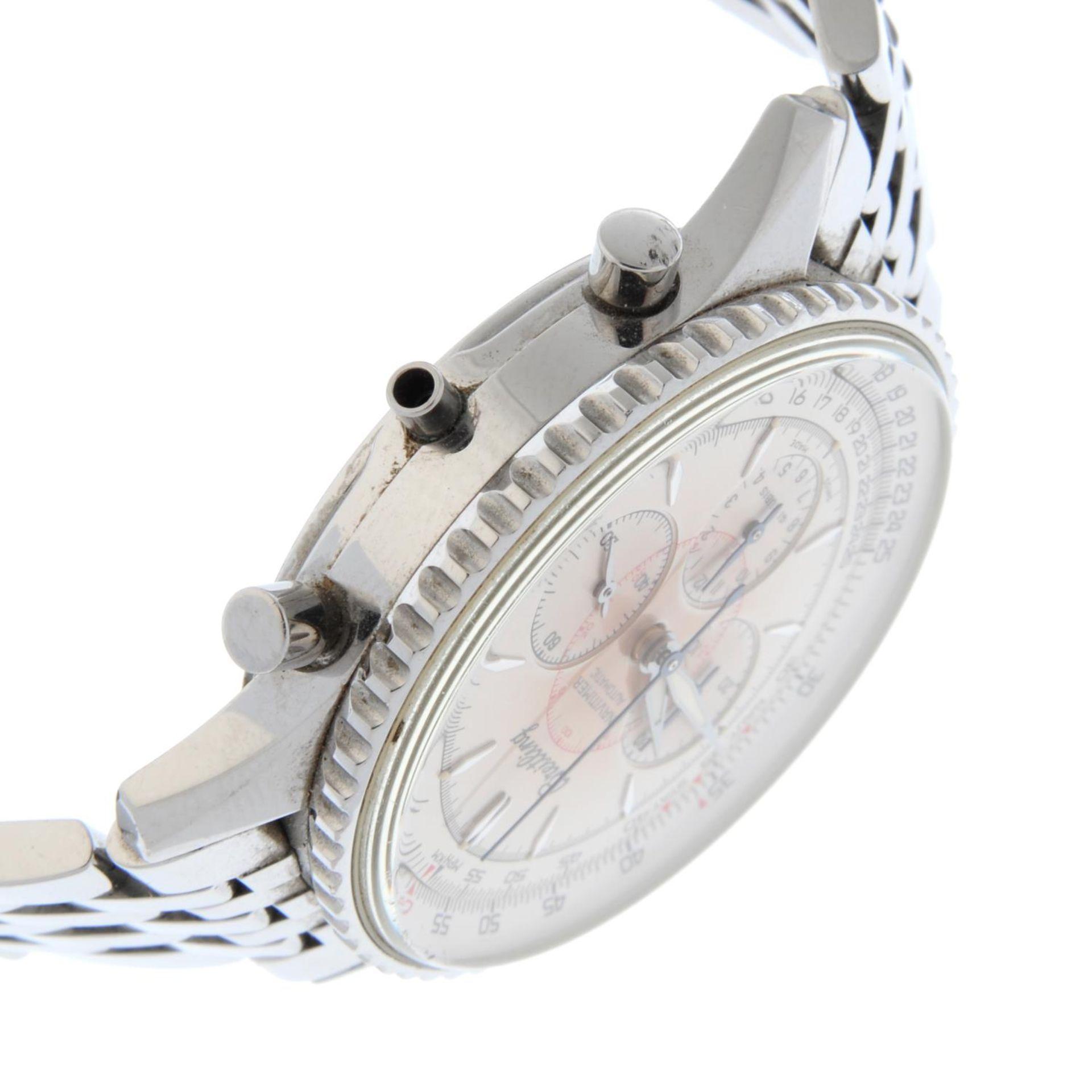 BREITLING - a Navitimer Montbrilliant bracelet watch. - Bild 4 aus 5