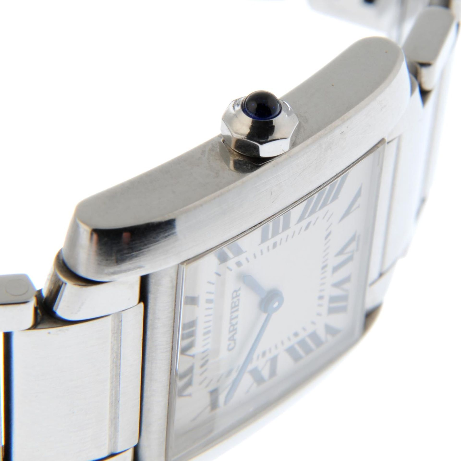 CARTIER - a Tank Francaise bracelet watch. - Bild 5 aus 5