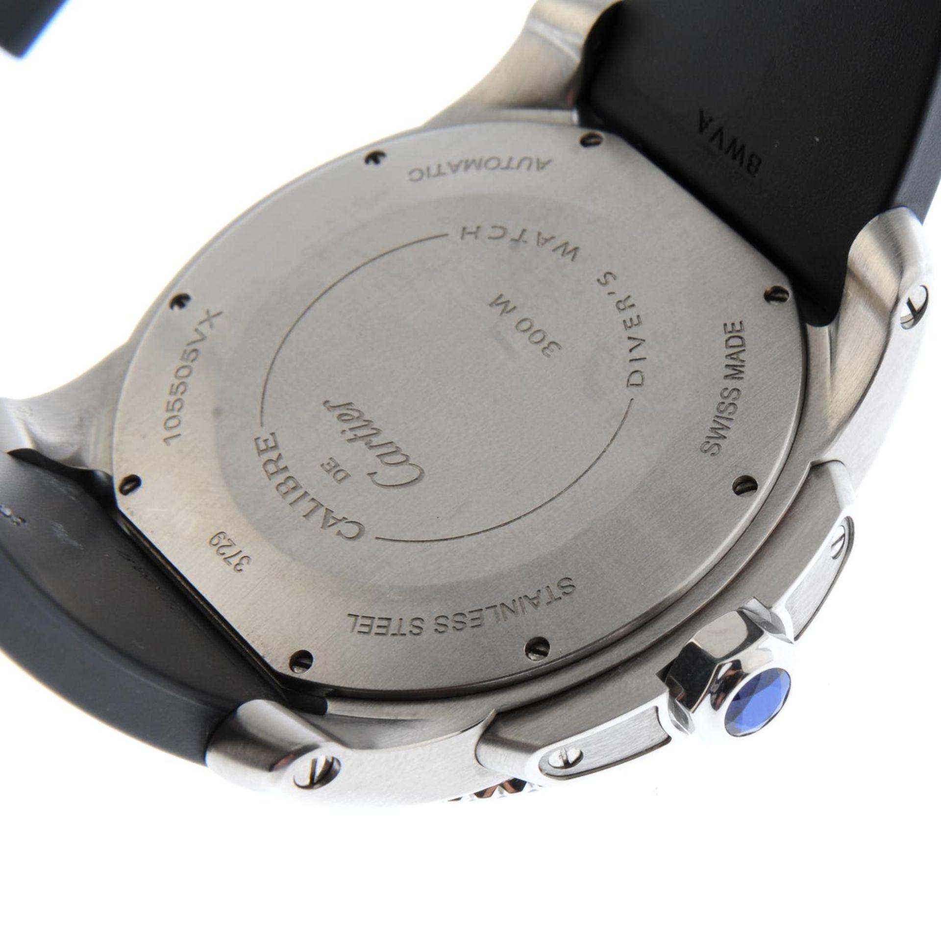 CARTIER - a Calibre de Cartier wrist watch. - Bild 2 aus 6
