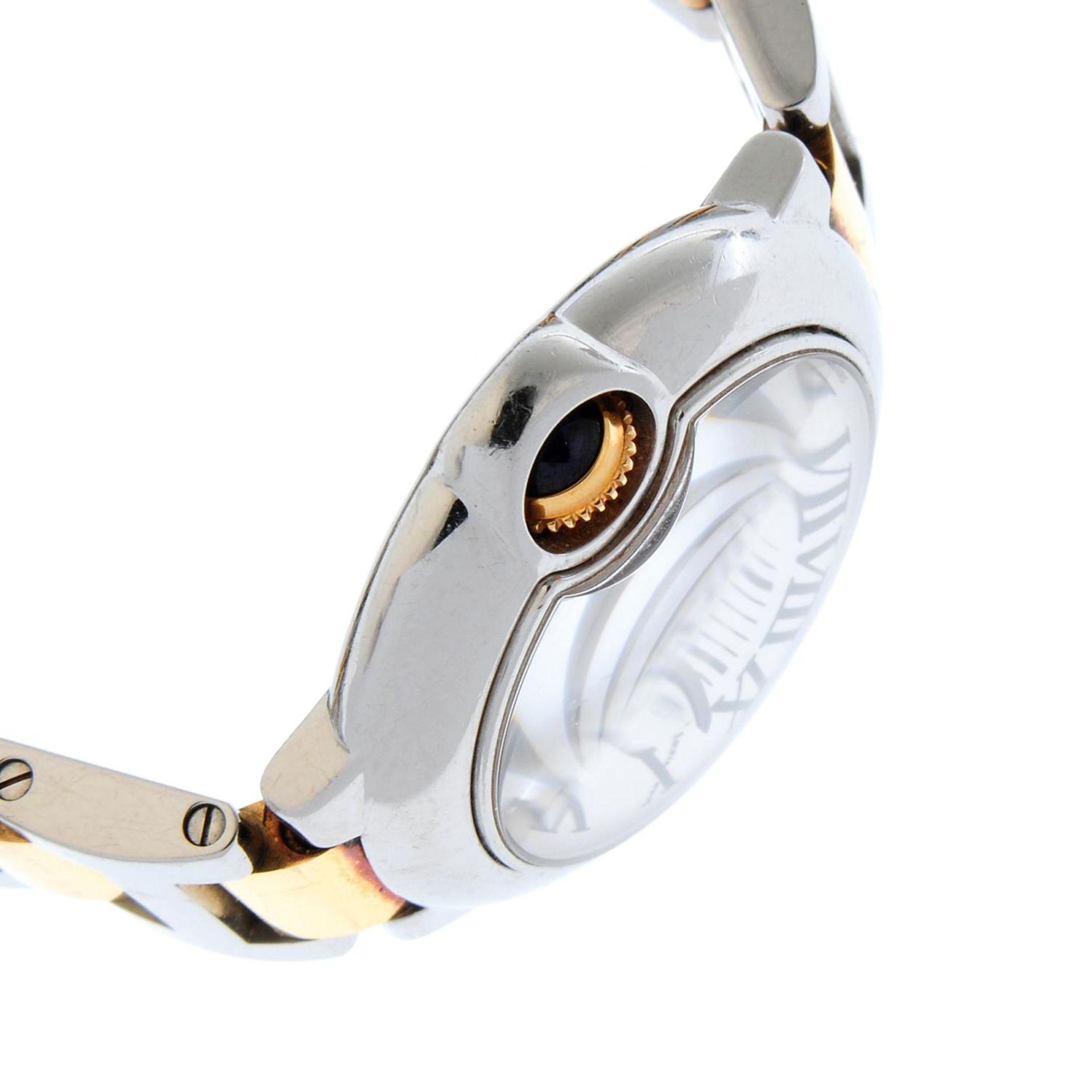 CARTIER - a Ballon Bleu bracelet watch. - Bild 4 aus 5