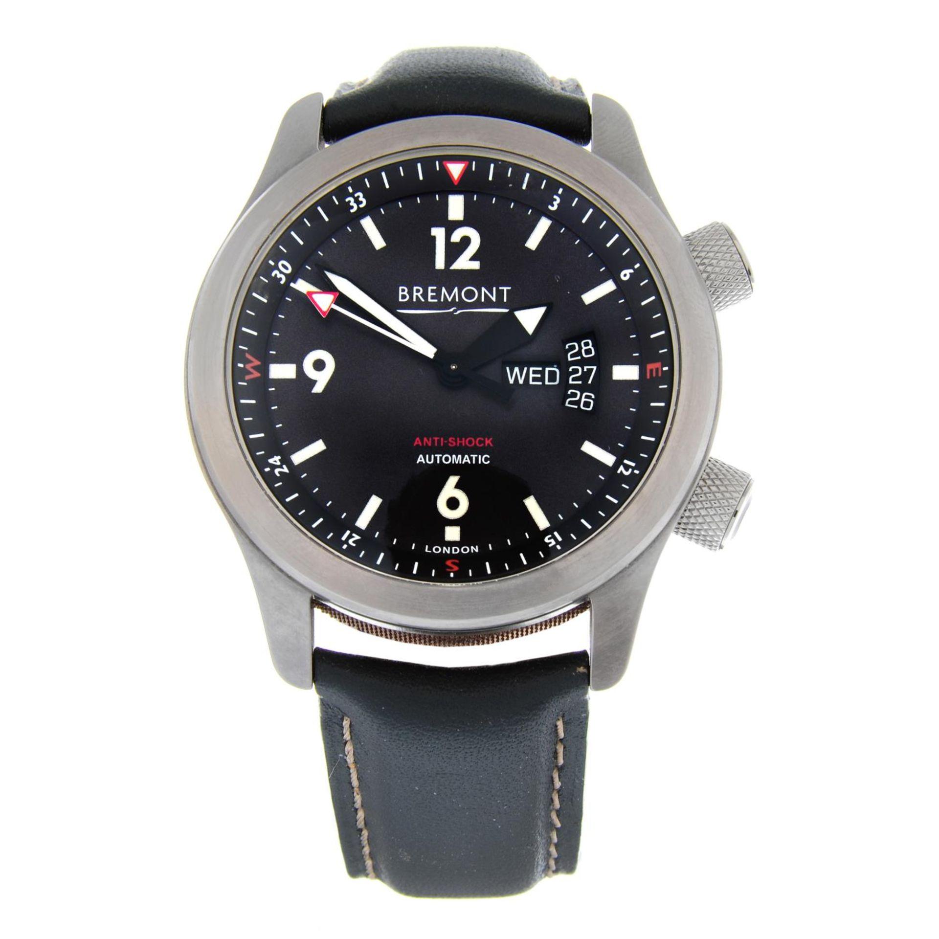 CURRENT MODEL: BREMONT - a U22 wrist watch.