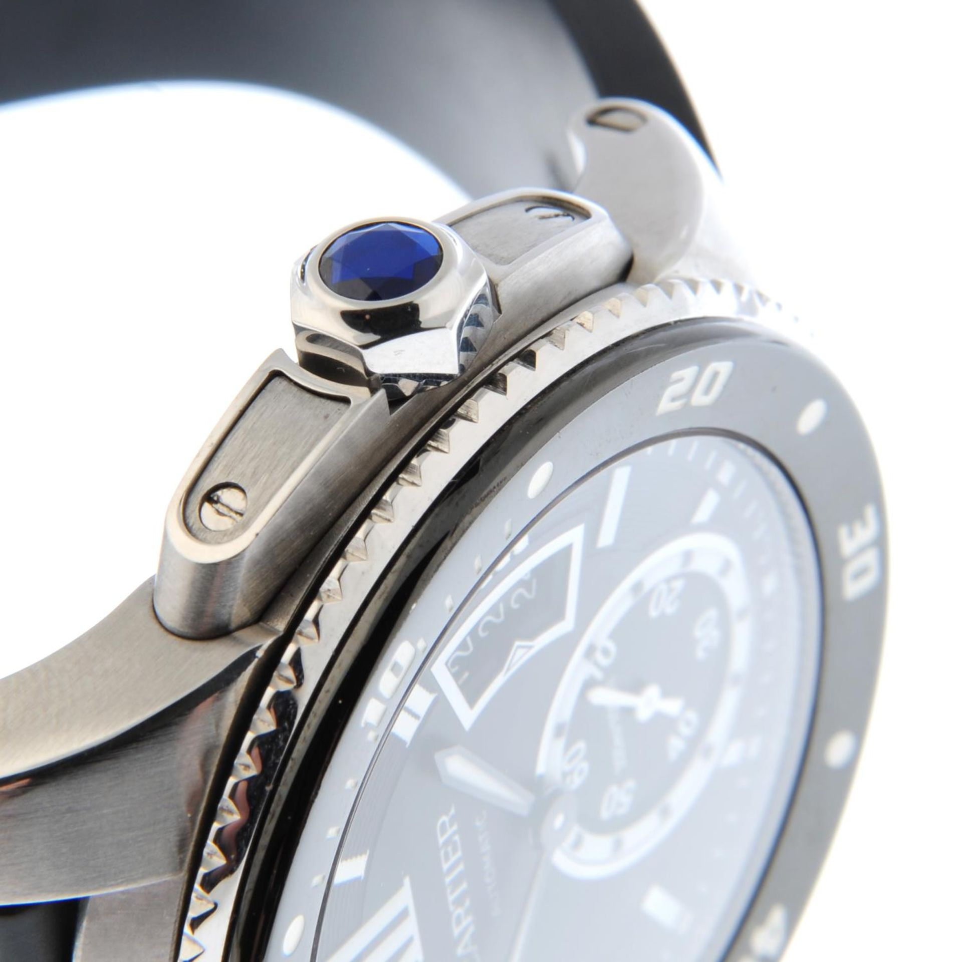CARTIER - a Calibre de Cartier wrist watch. - Bild 5 aus 6