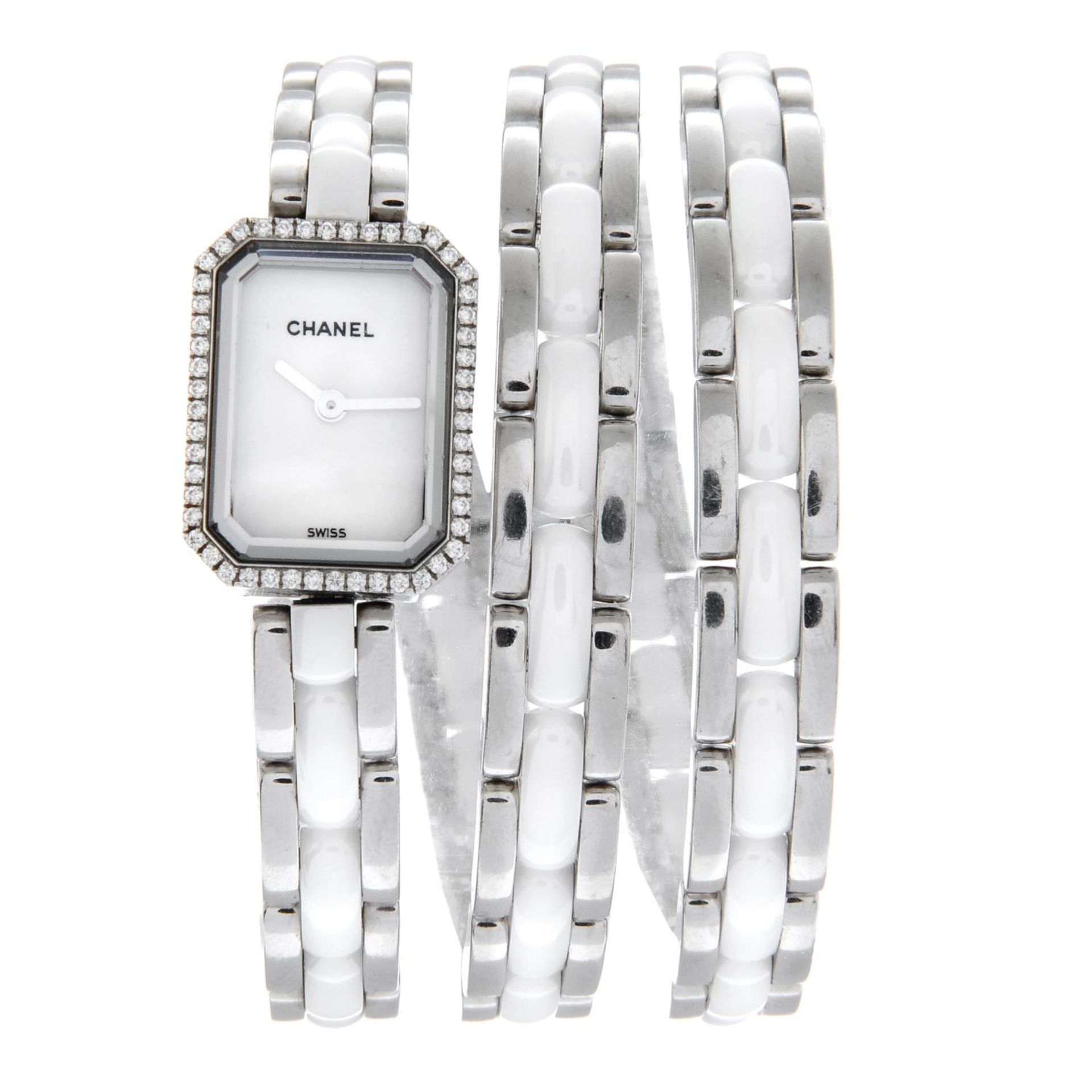 CHANEL - a Premiere bracelet watch.