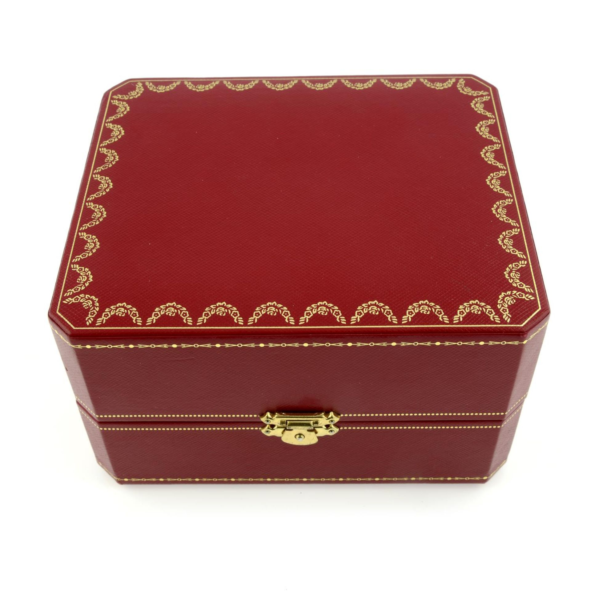 CARTIER - a Calibre de Cartier wrist watch. - Bild 6 aus 6
