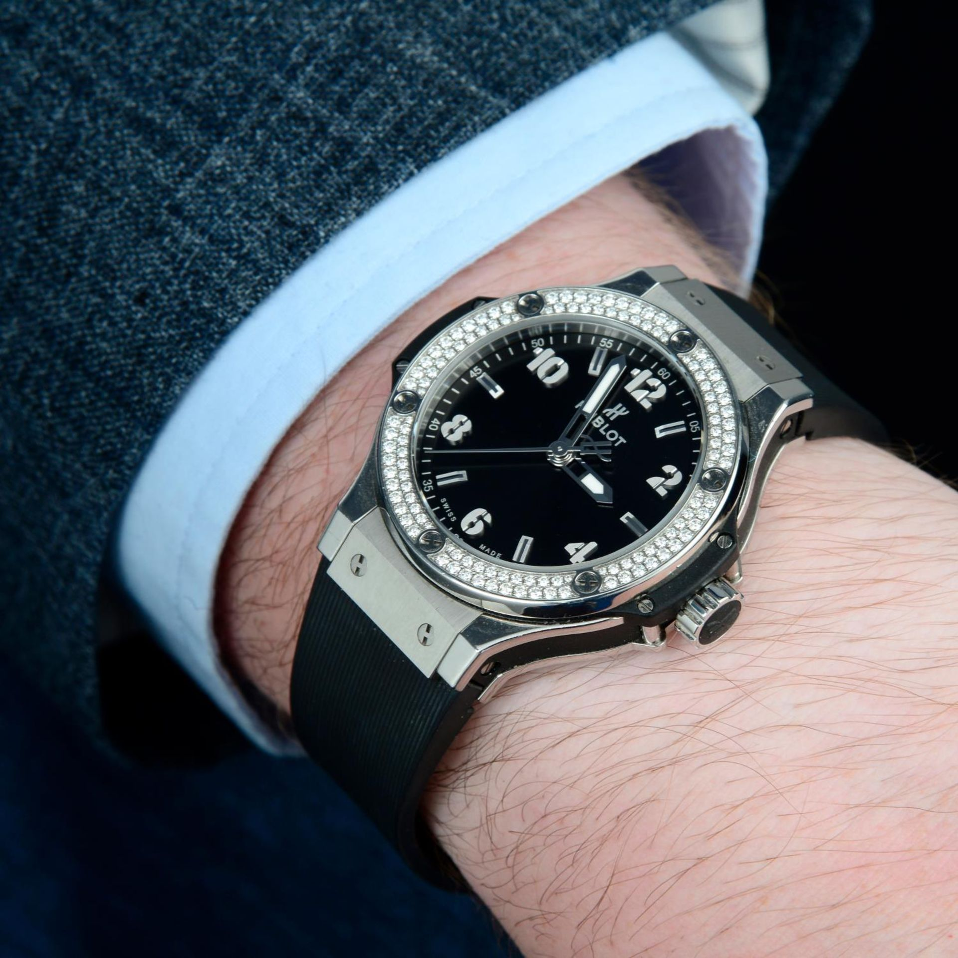 HUBLOT - a Big Bang wrist watch. - Bild 3 aus 6