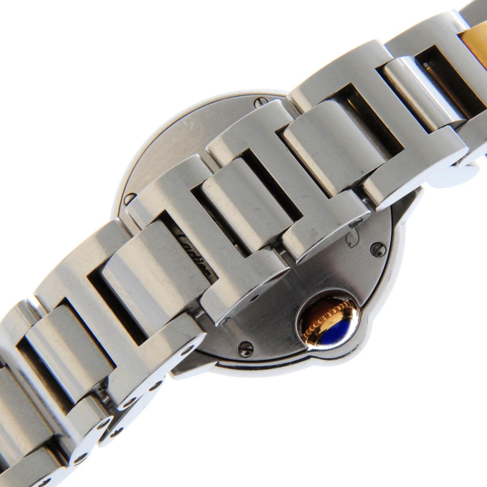 CARTIER - a Ballon Bleu bracelet watch. - Bild 2 aus 5