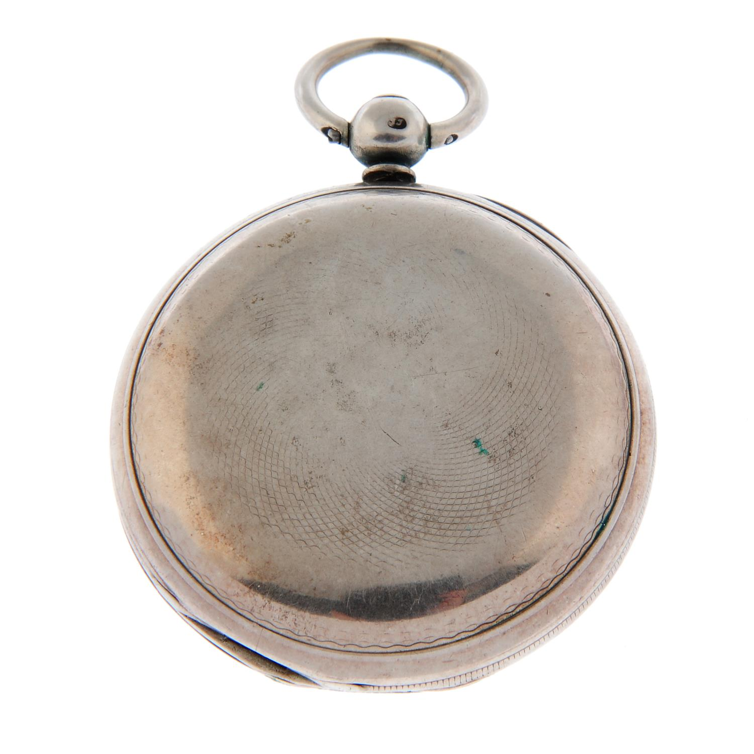 A full hunter pocket watch by F. - Image 3 of 3