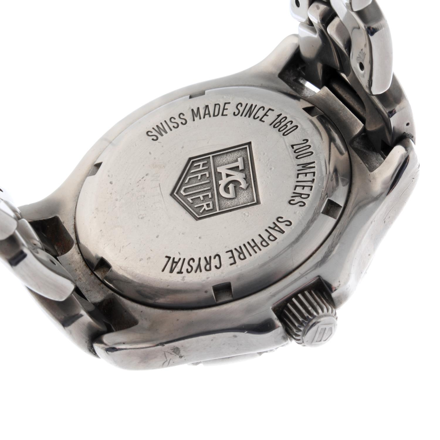 TAG HEUER - a Link bracelet watch. - Image 4 of 4
