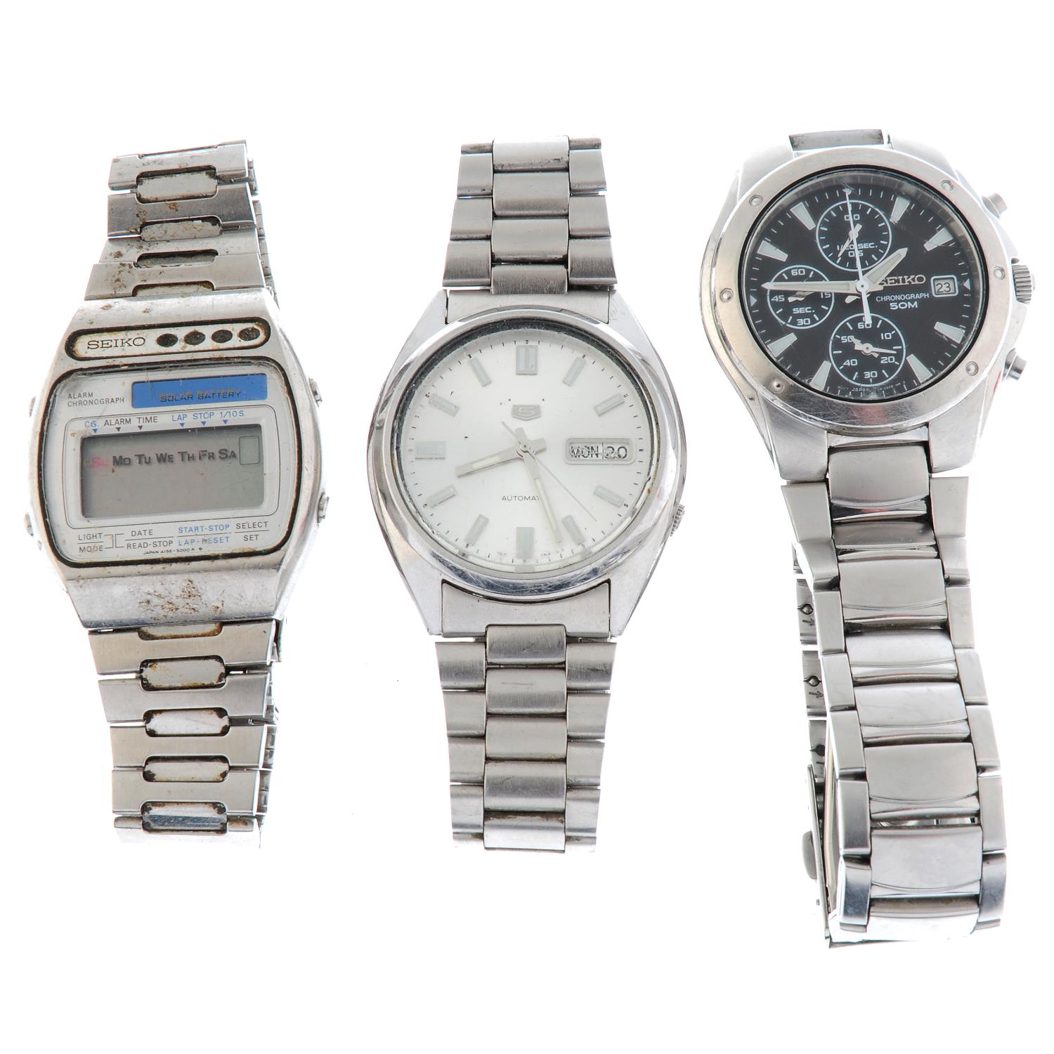 A group of ten assorted Sekio watches. - Image 2 of 3