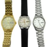 A group of ten assorted watches, to include examples by Seiko.