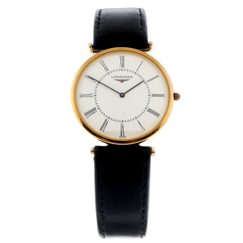LONGINES - a gentleman's La Grande Classique wrist watch.
