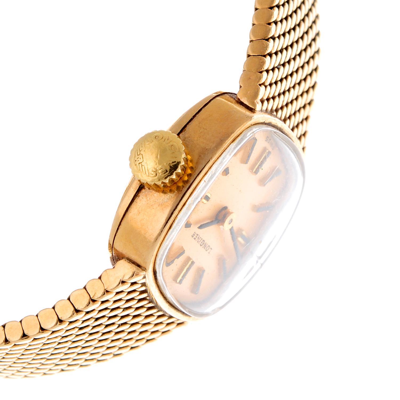 LONGINES - a bracelet watch. - Image 3 of 4