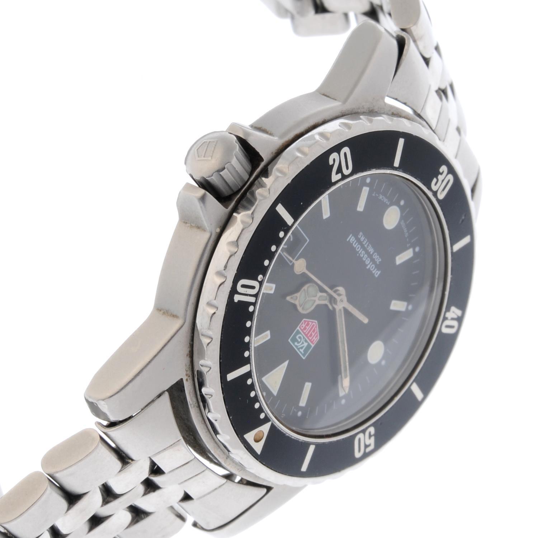 TAG HEUER - a gentleman's 1500 Series bracelet watch. - Image 3 of 4