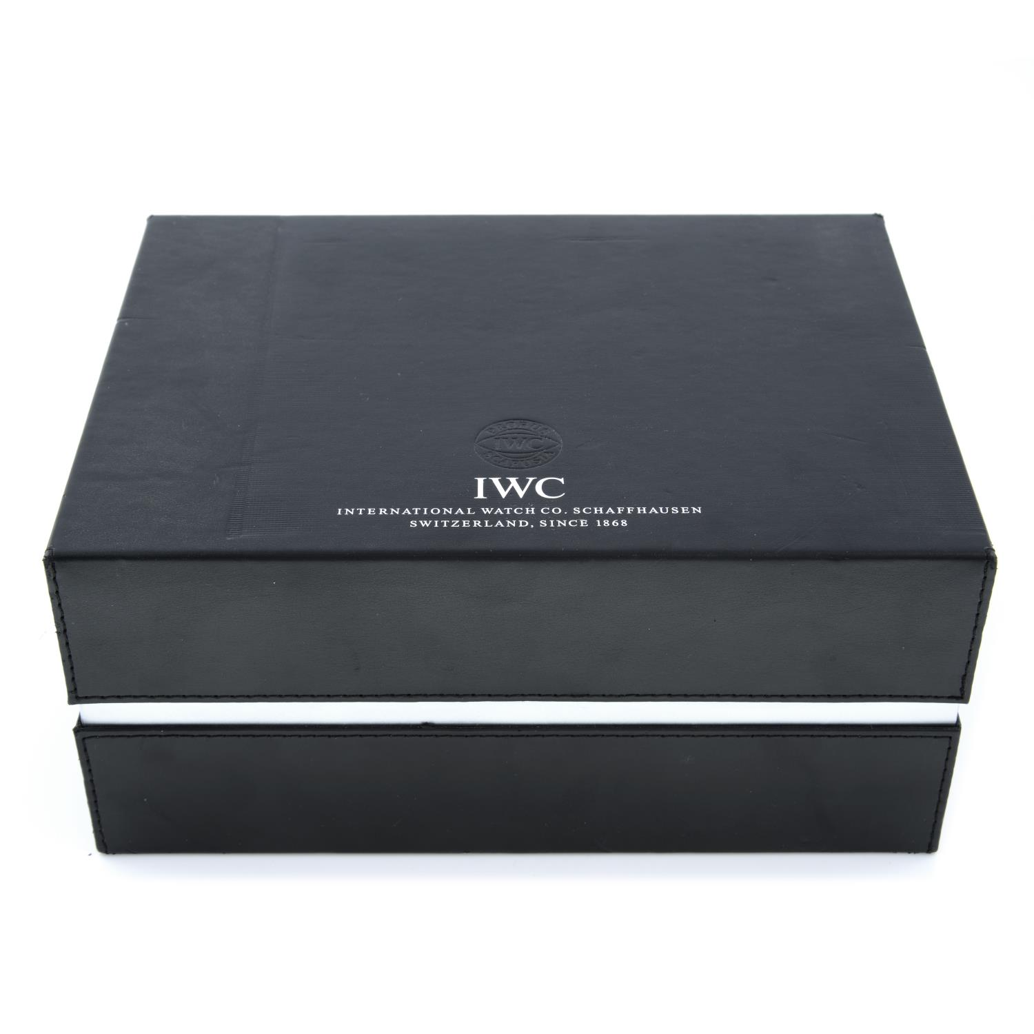 IWC - a group of ten watch boxes, some incomplete.