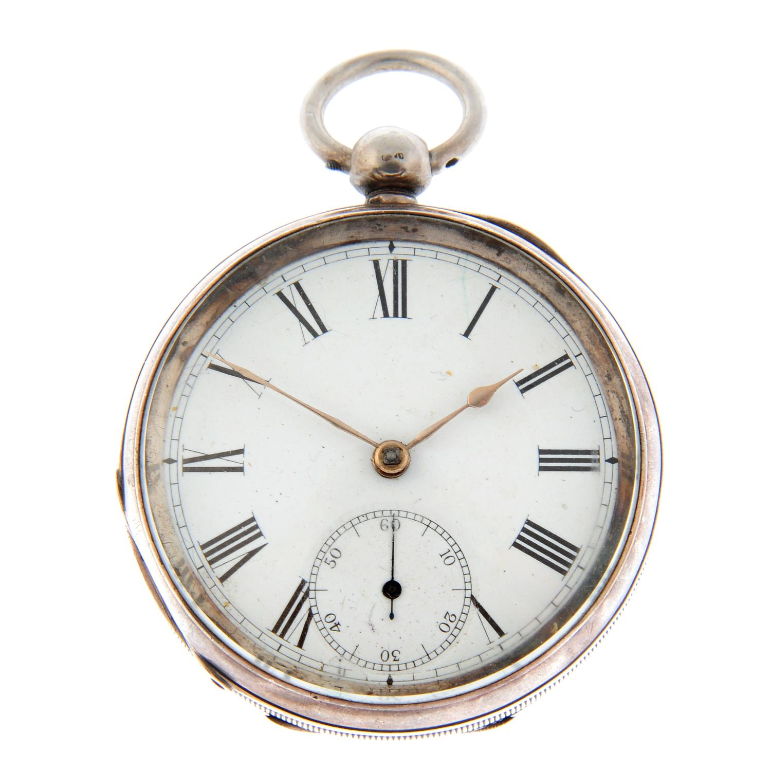 An open face pocket watch by Waltham.
