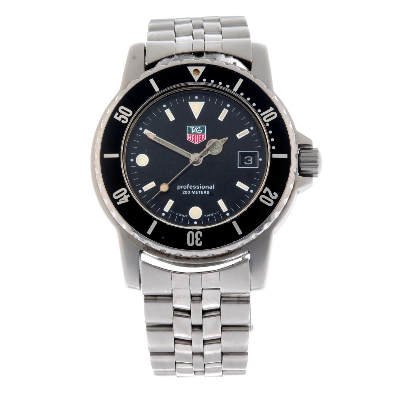 TAG HEUER - a gentleman's 1500 Series bracelet watch.